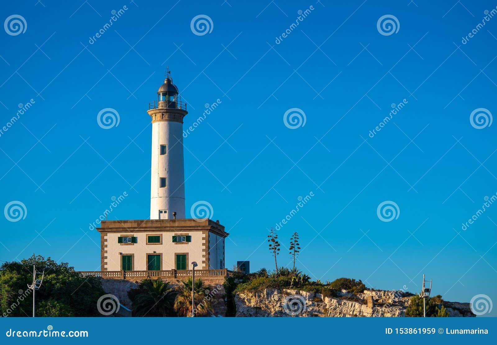 Ibiza Botafoc fyr i Eivissa port