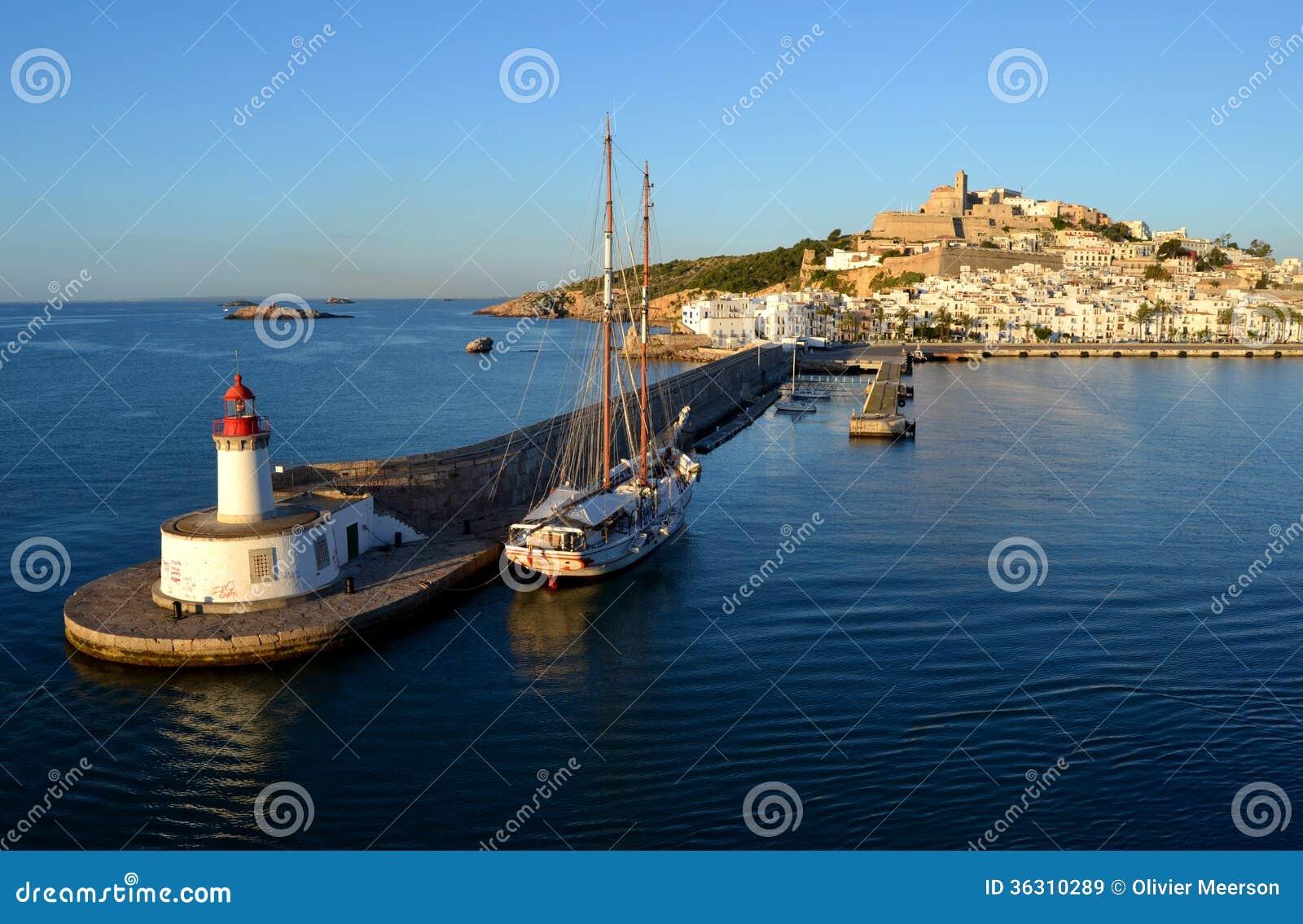 Ibiza, eivissa, гавань