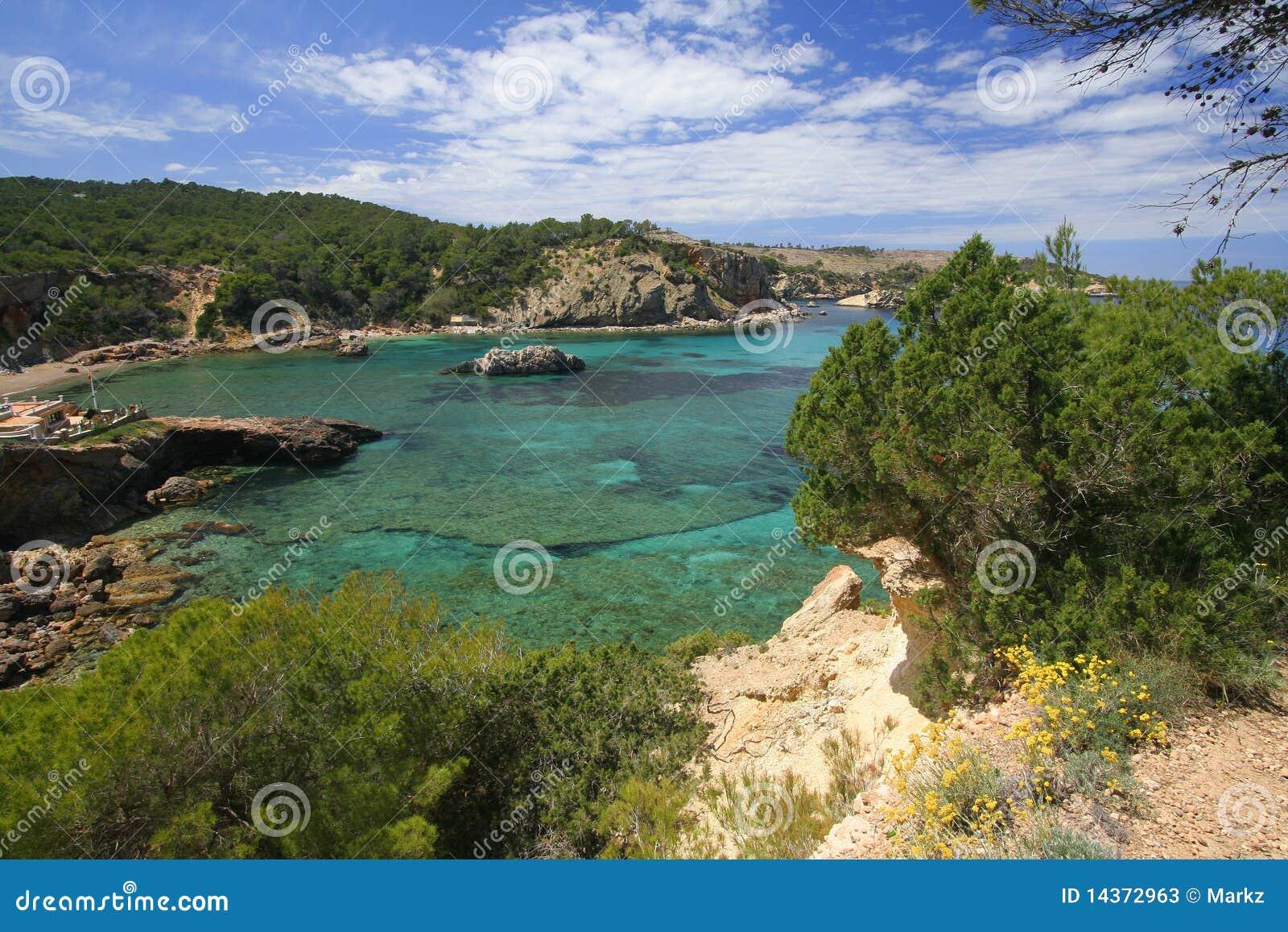 Ibiza Küstezeile