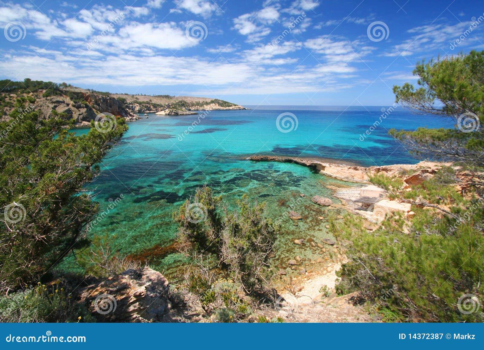 Ibiza Mittelmeerküstezeile