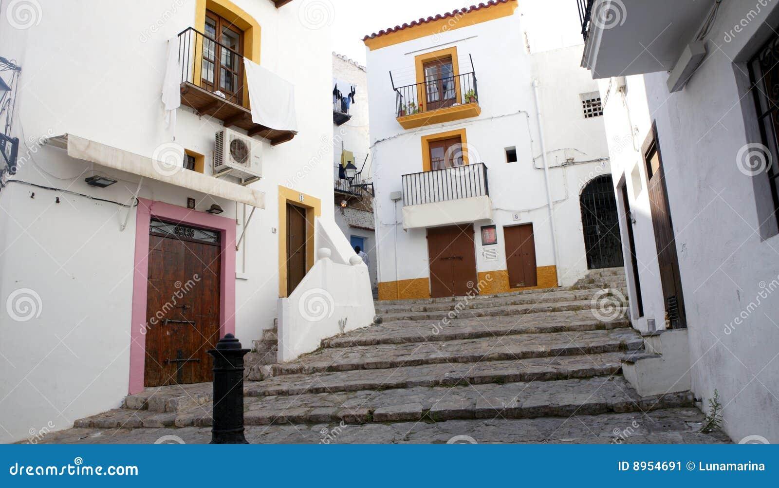 Ibiza van de Balearen in Spanje
