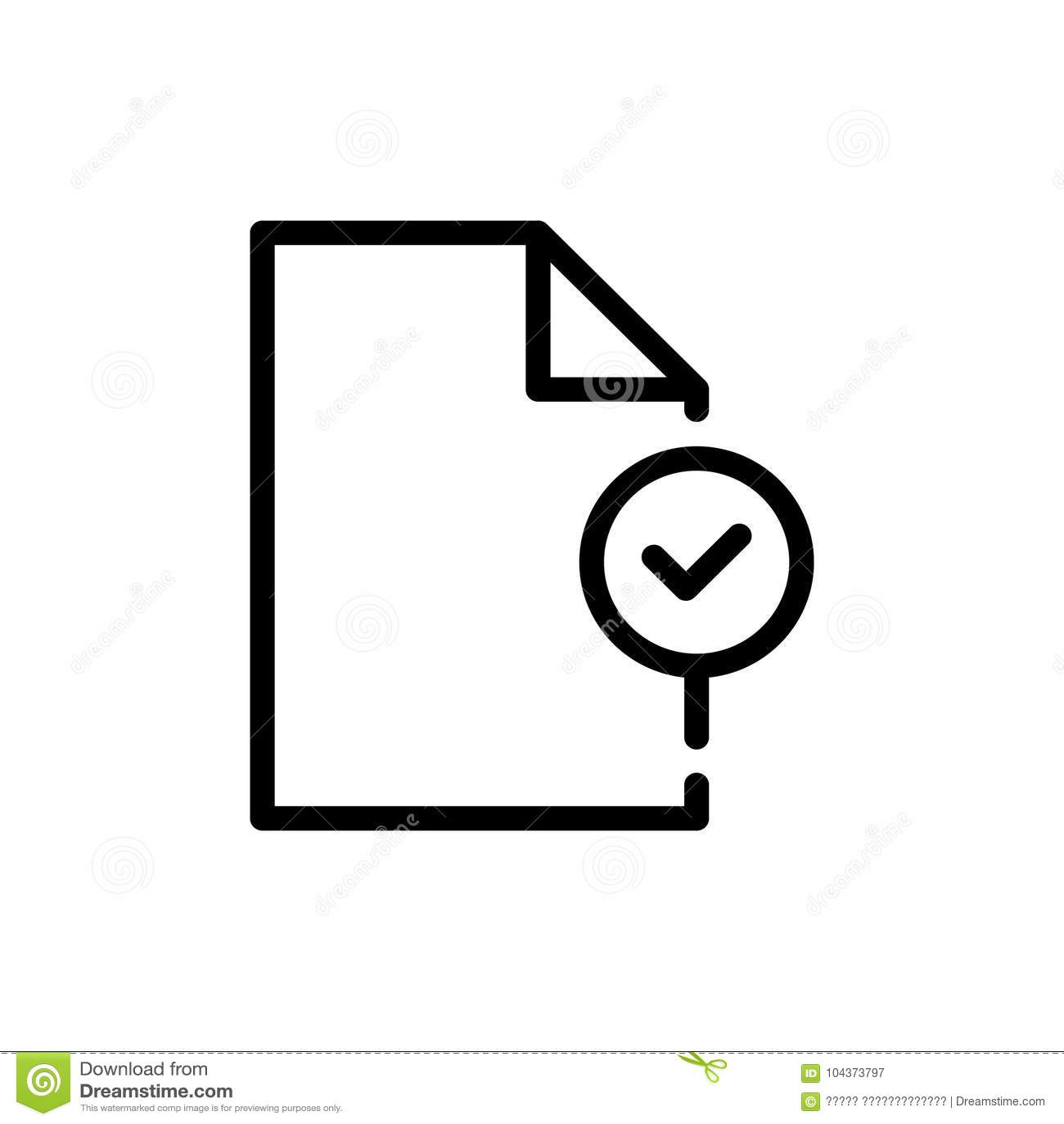 Icône analytique de document
