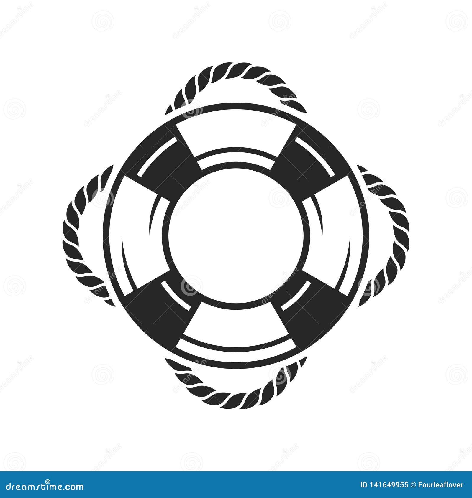 Icône d anneau de conservateur de vie