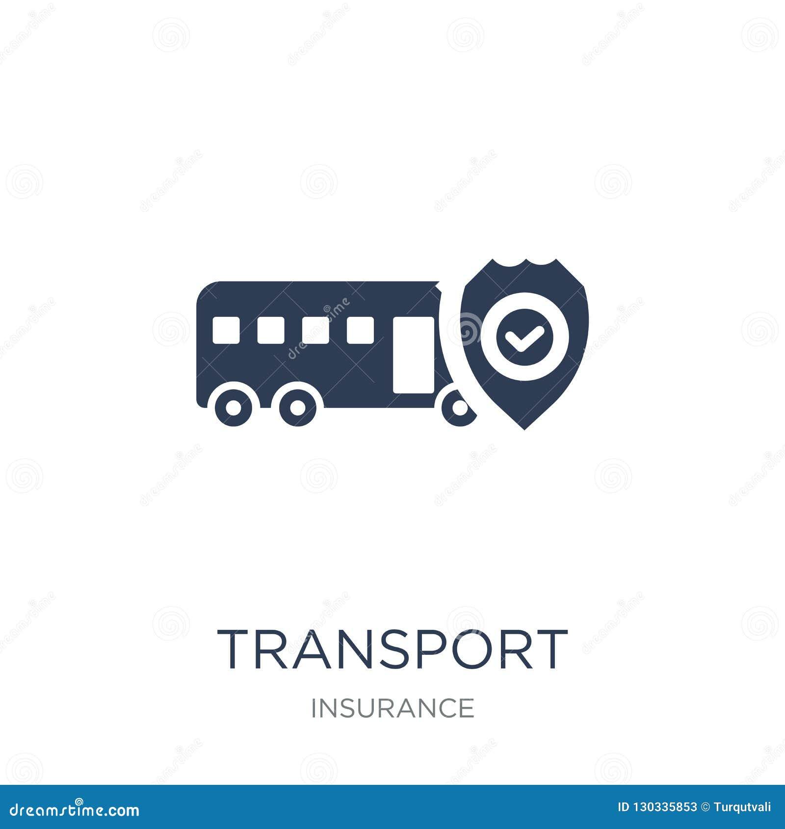 Icône d assurance transport