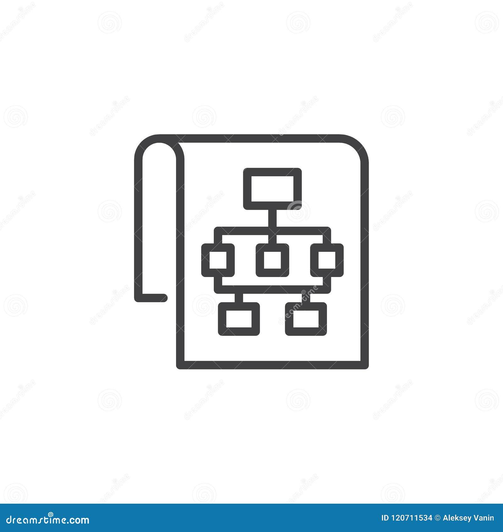 Icône d ensemble de plan du site