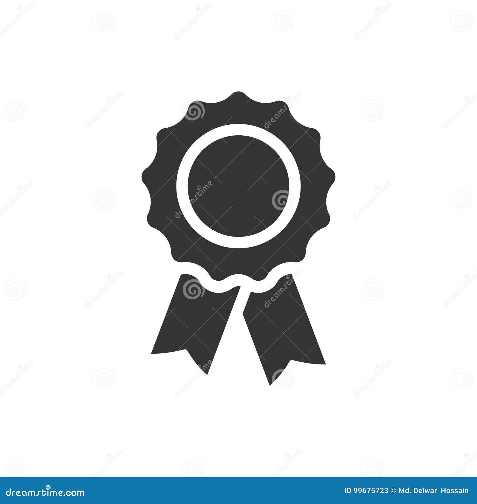 Icône d insigne de récompense