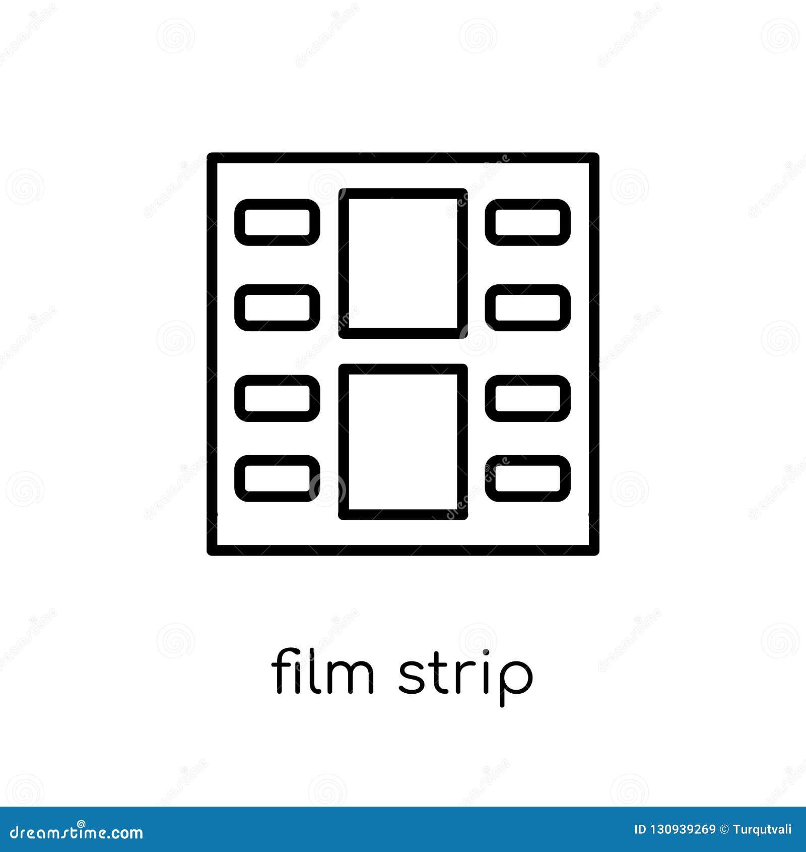 Icône de bande de film