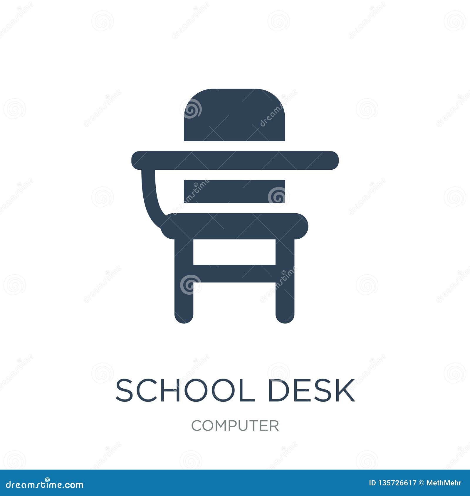 De à Dans Le D'école La Style Mode Icône De Bureau bgY6yf7v