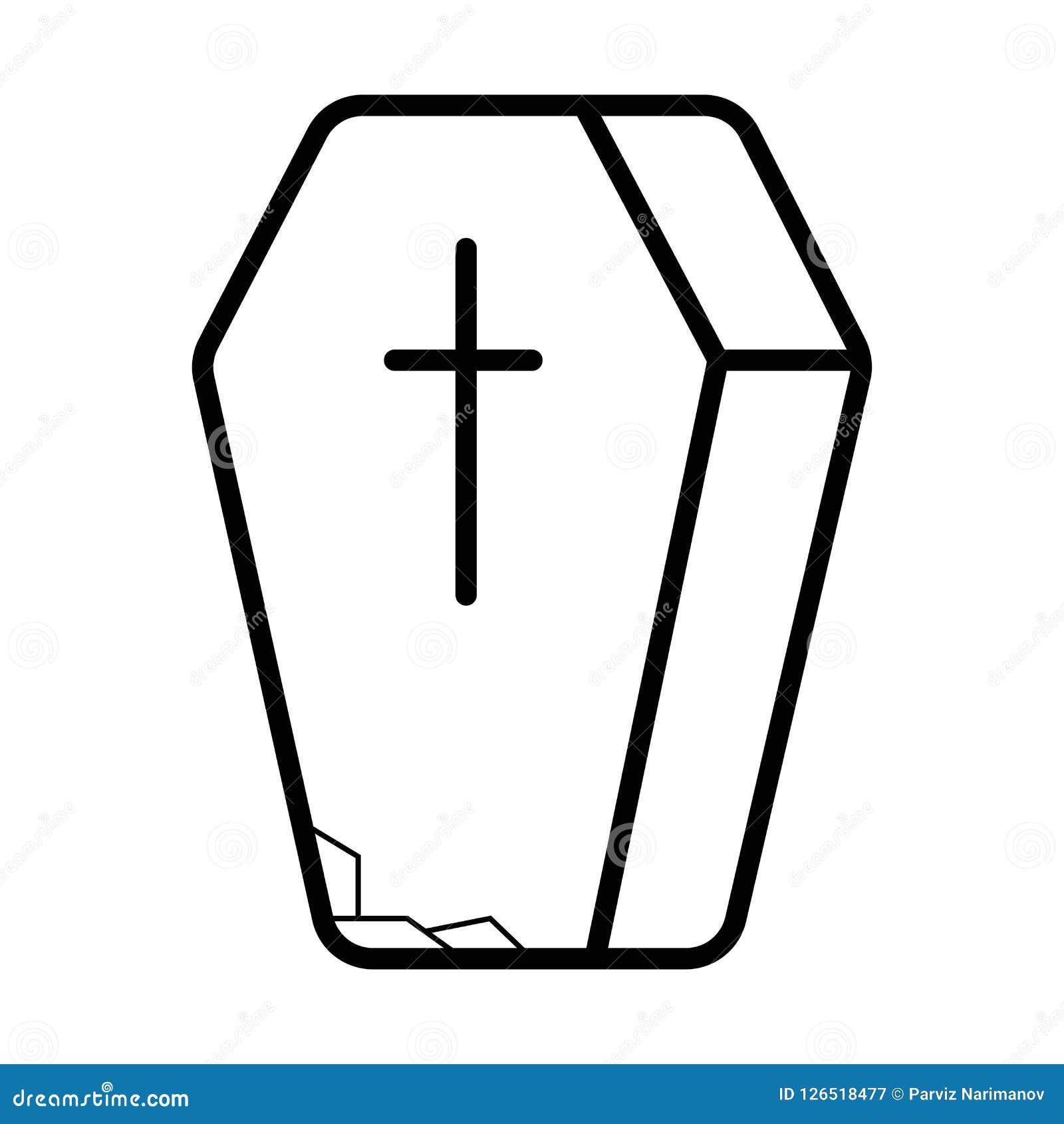 Icône de cercueil