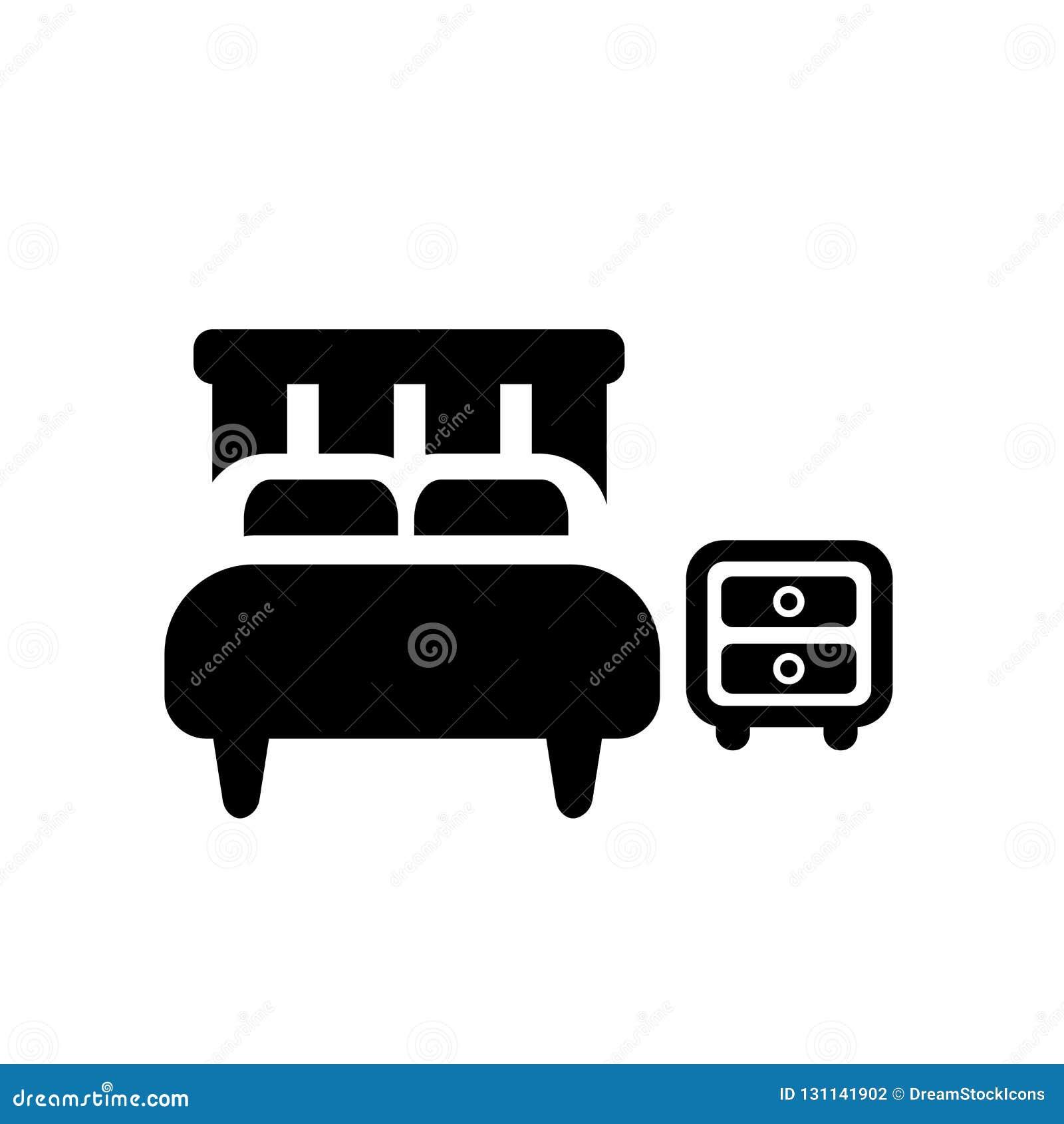 Icône de chambre à coucher