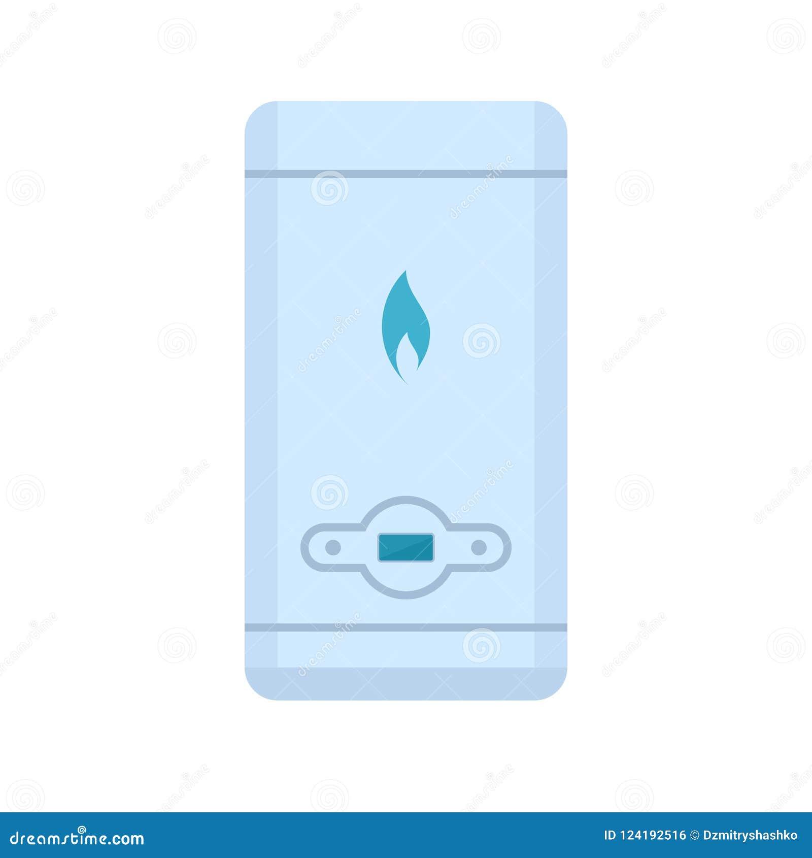 Icône de chauffe-eau de gaz