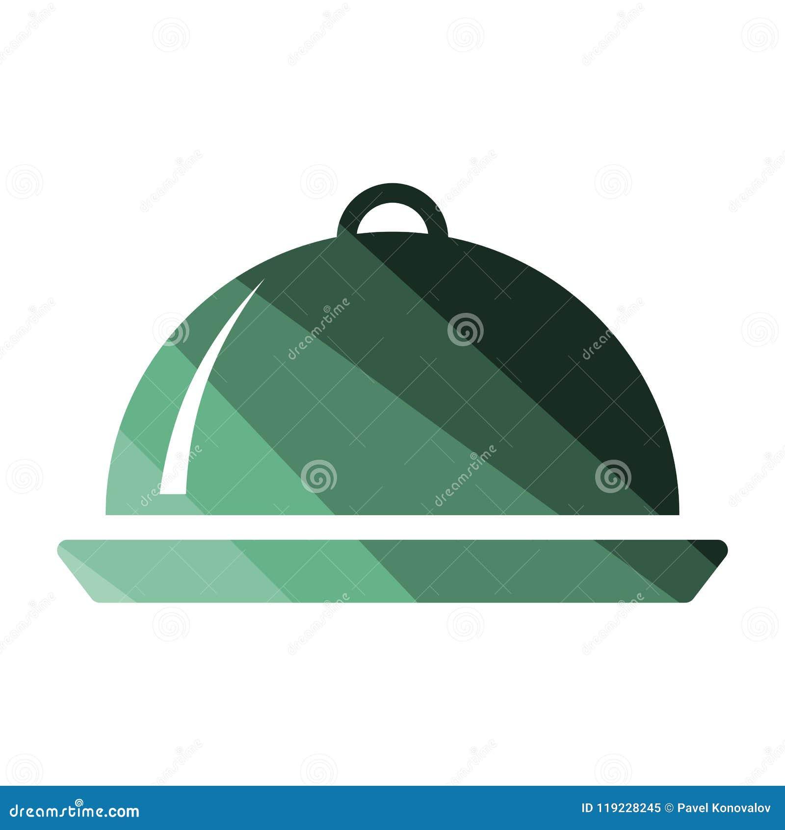 Icône de cloche de restaurant