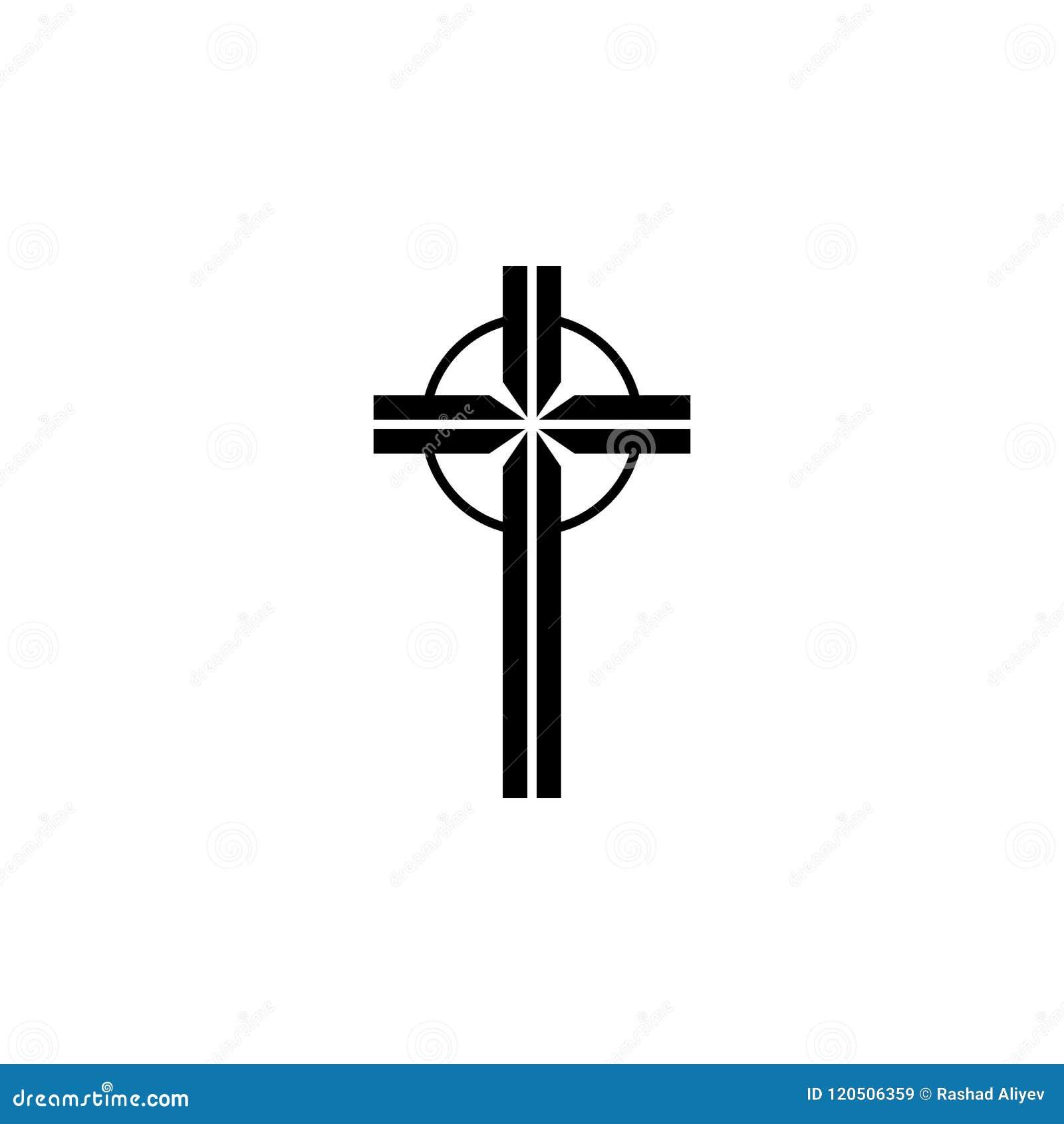 Icone De Croix Celtique Element D Icone De Tatouage Pour Les Apps