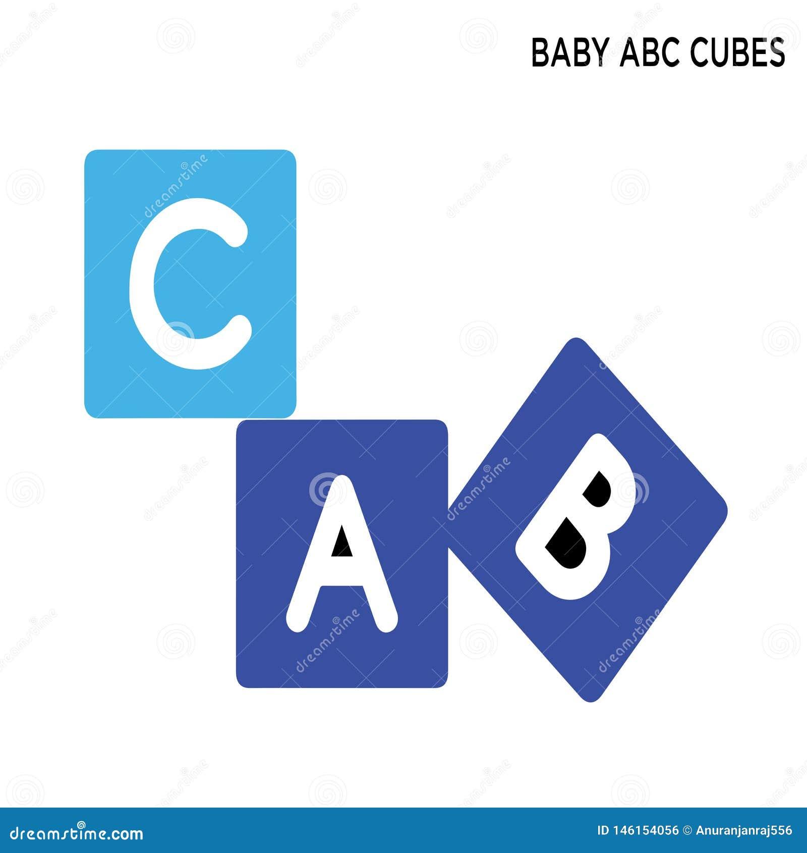 Icône de cubes en ABC de bébé