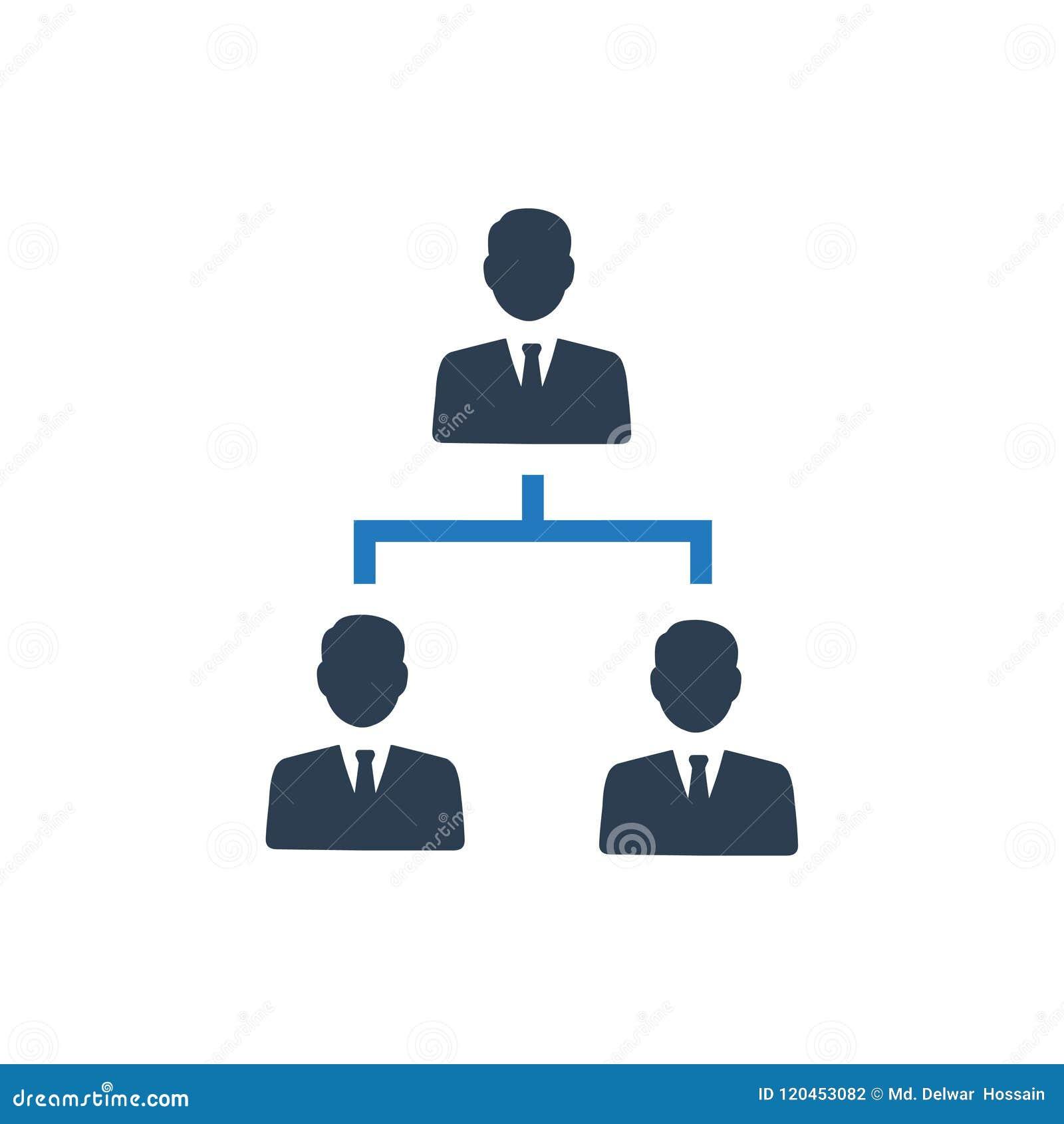 Icône de hiérarchie
