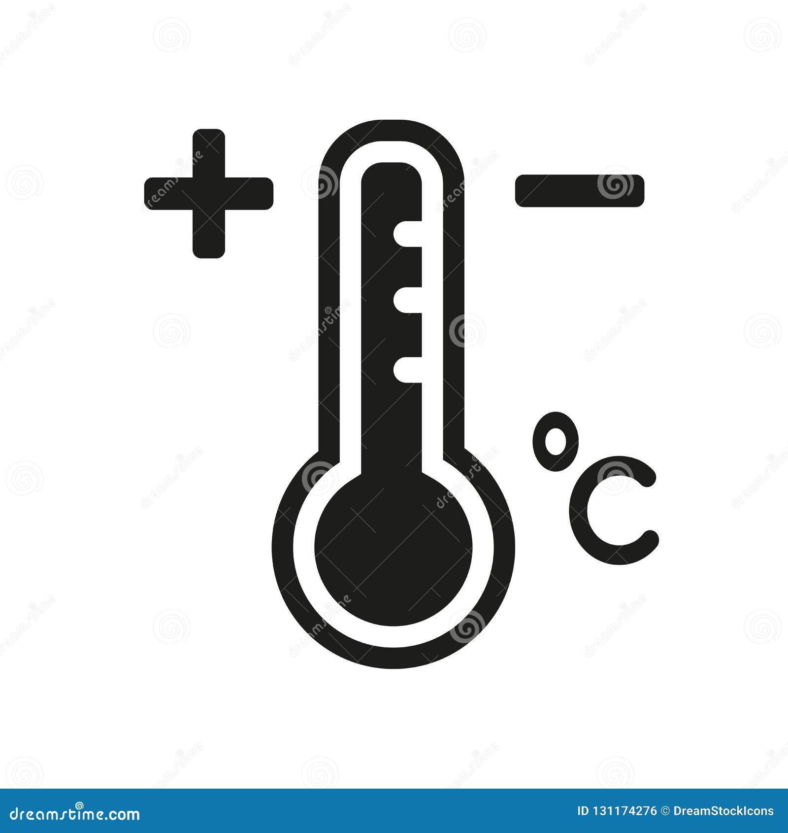 Icône de la température