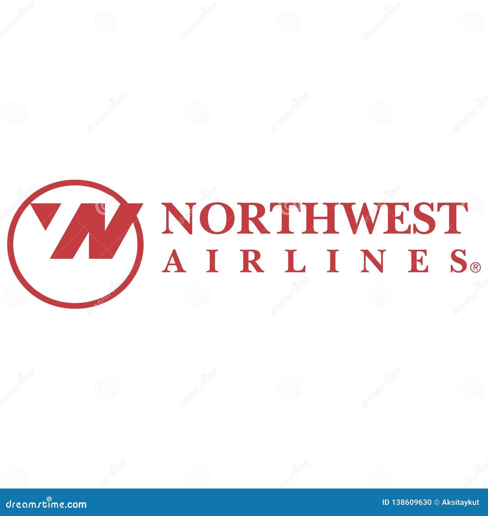 Icône de logo de Northwest Airlines