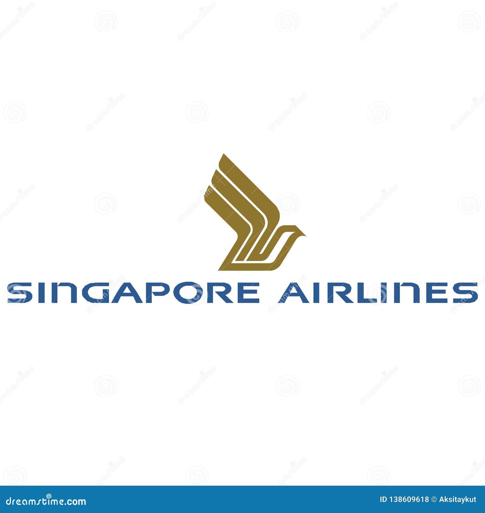 Icône de logo de Singapore Airlines
