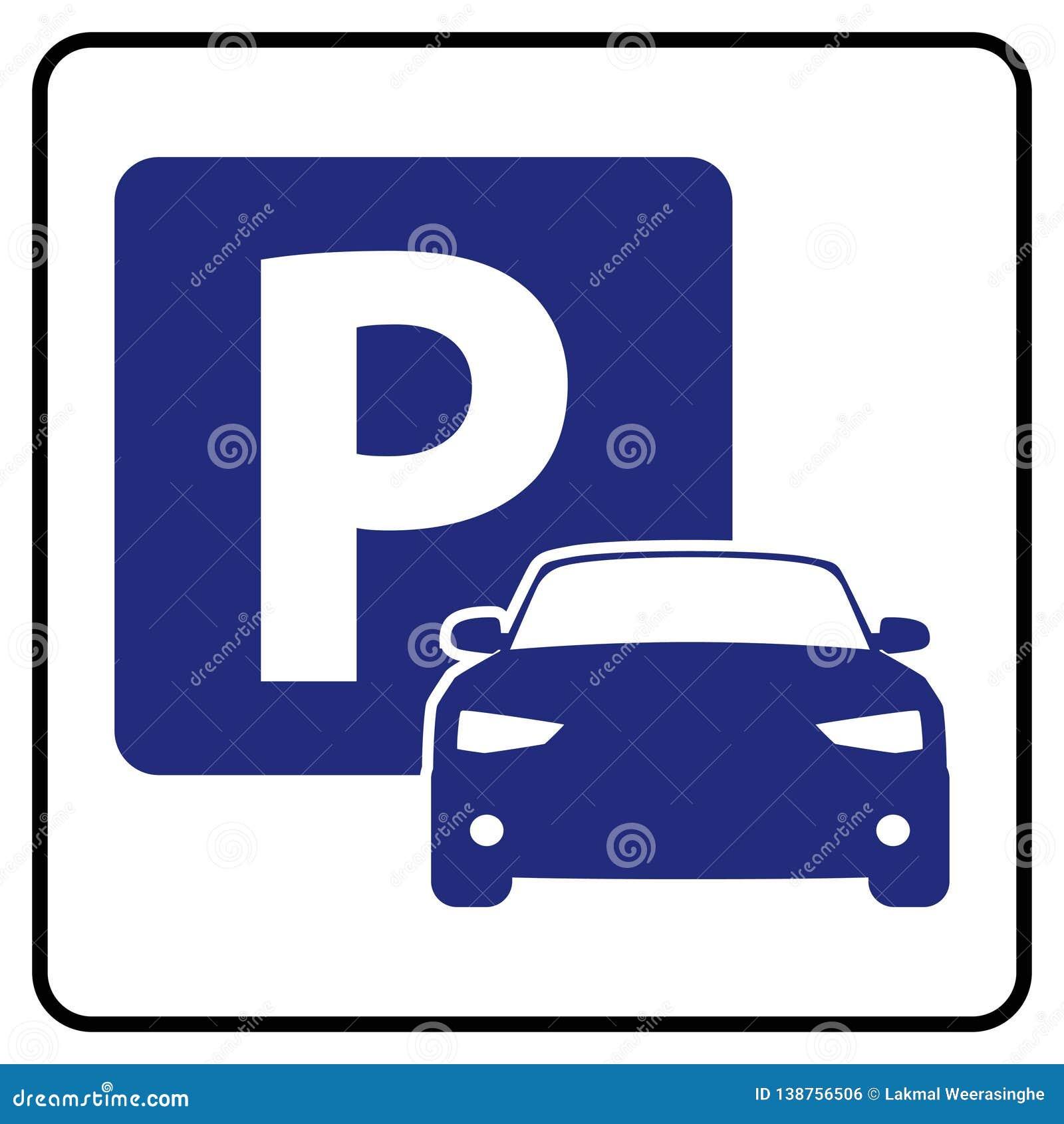 Icône de parking
