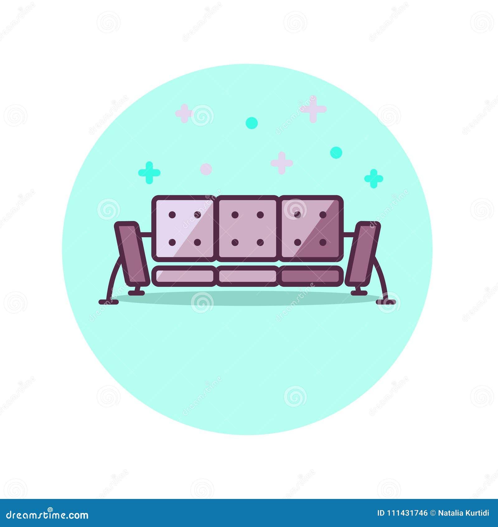 Icone De Sofa Style Minimaliste Meubles A La Maison Dans La