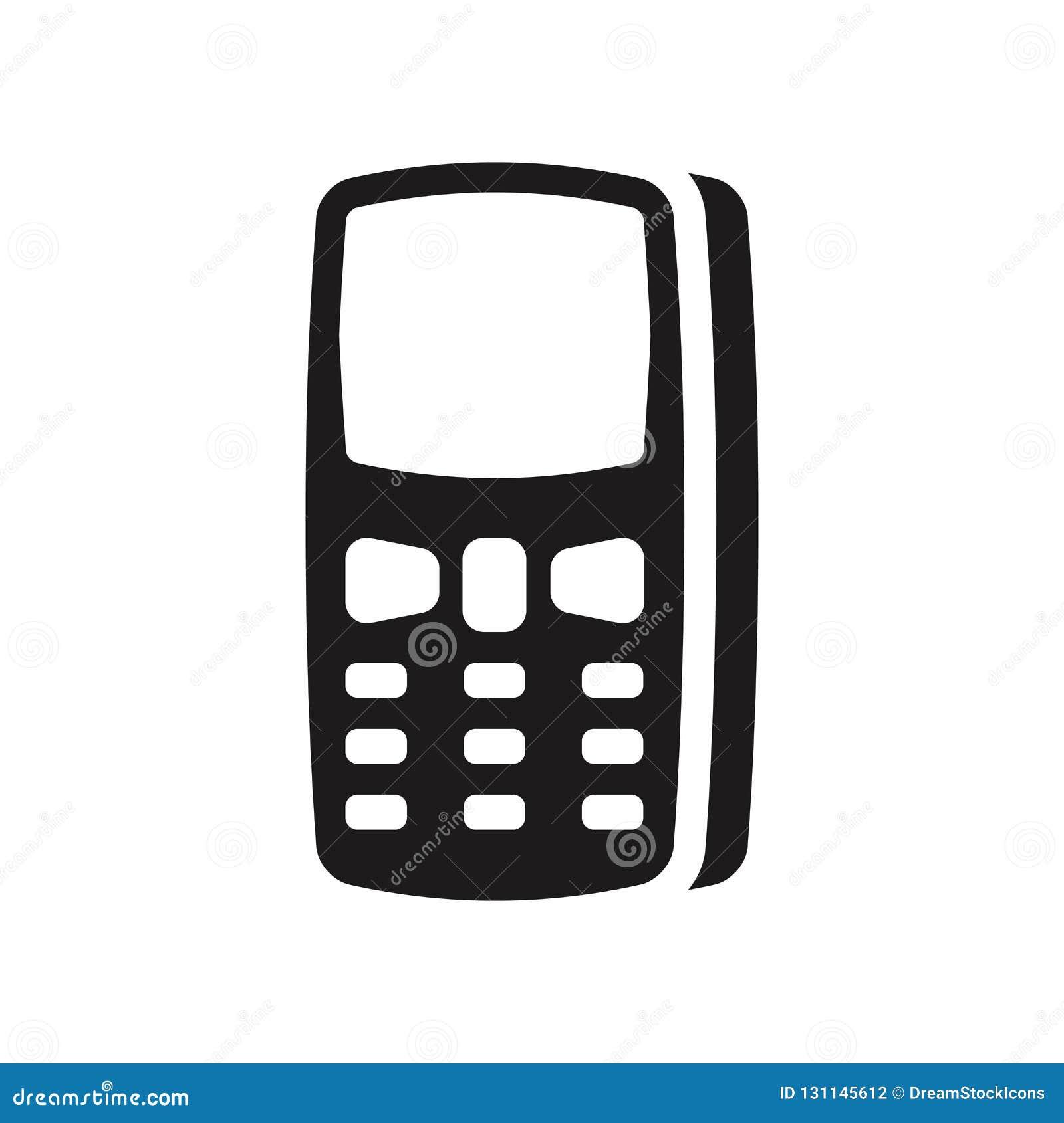 Icône De Téléphone De Clavier Numérique Concept à La Mode De