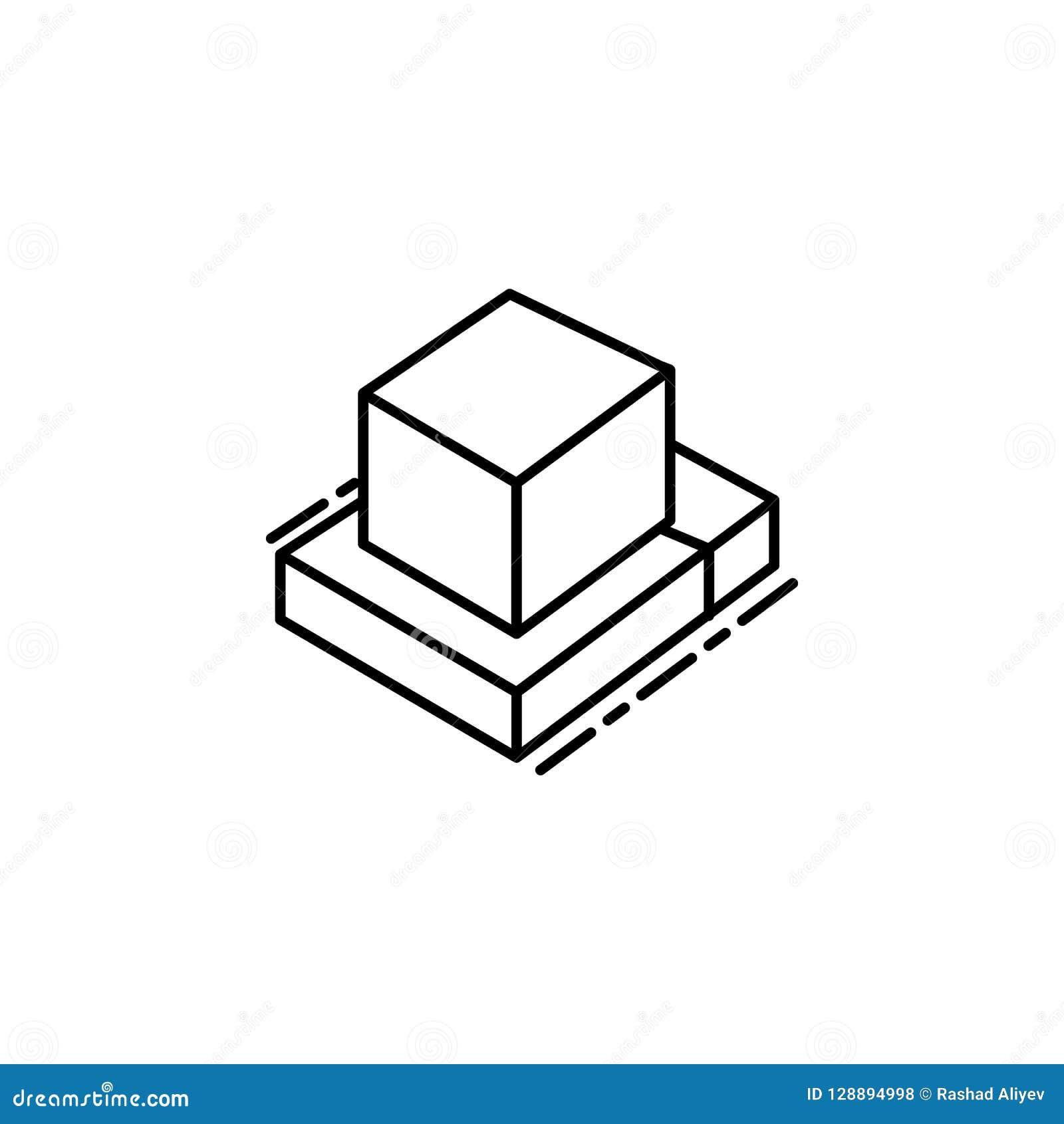 Icône de Tefillin Élément d icône juive pour les apps mobiles de concept et de Web La ligne mince icône de Tefillin peut être emp
