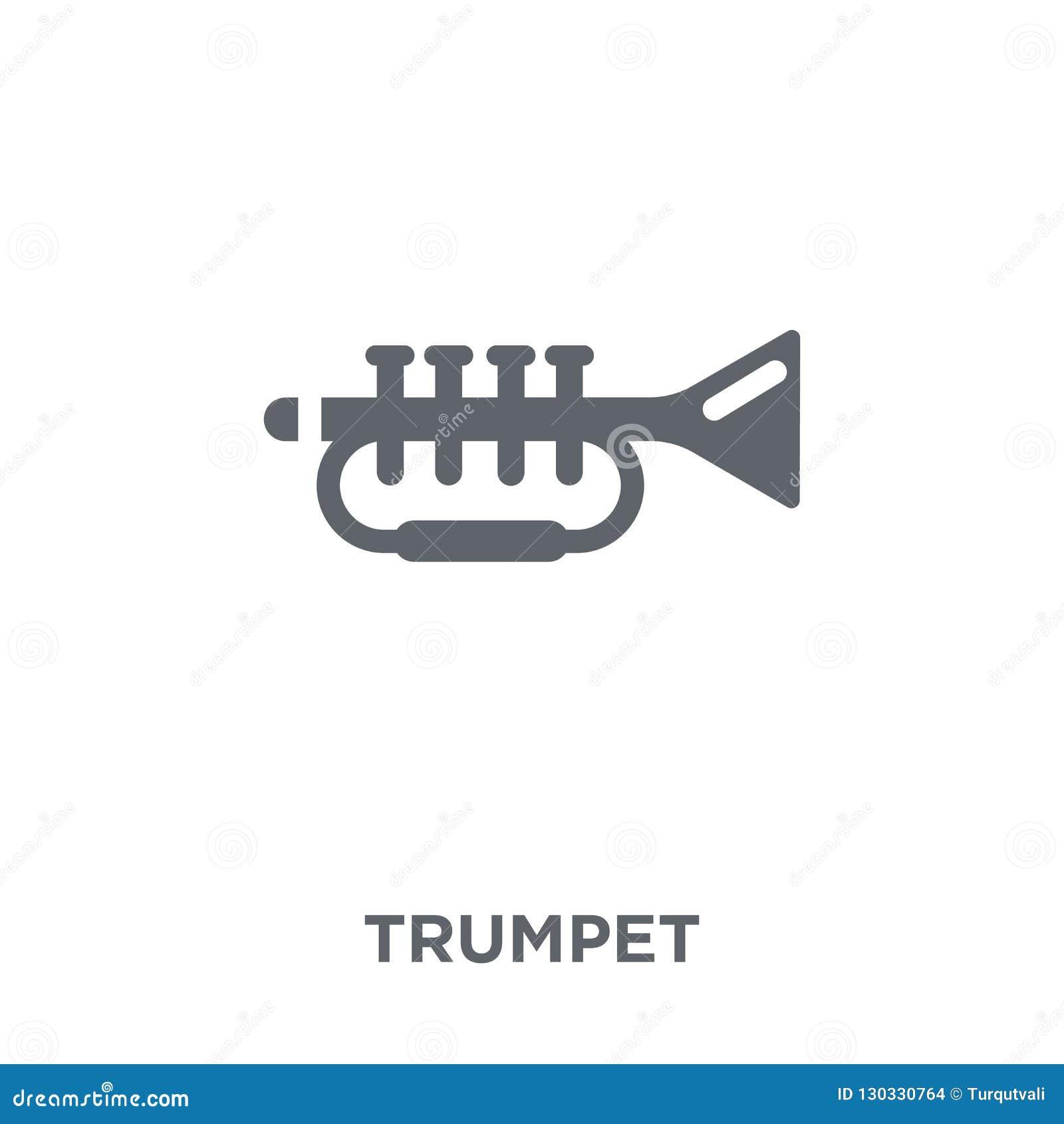 Icône de trompette de collection