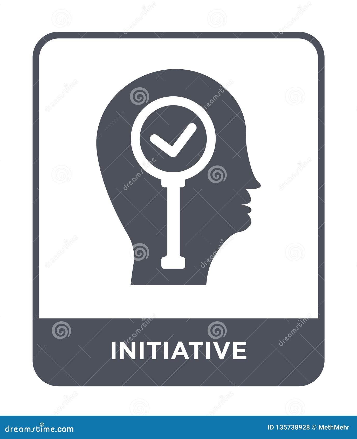 Icône initiatique dans le style à la mode de conception icône initiatique d isolement sur le fond blanc icône initiatique de vect