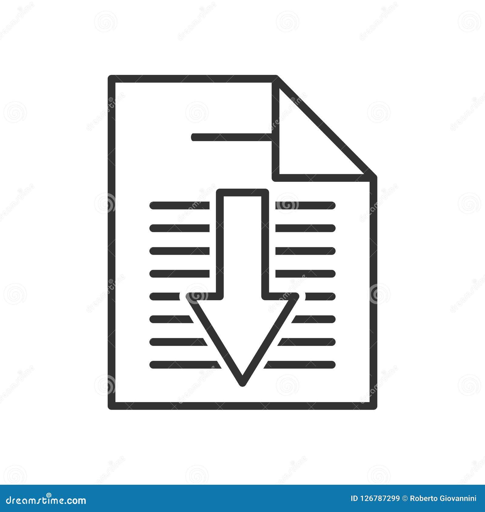 Icône plate de livre d ensemble électronique de téléchargement