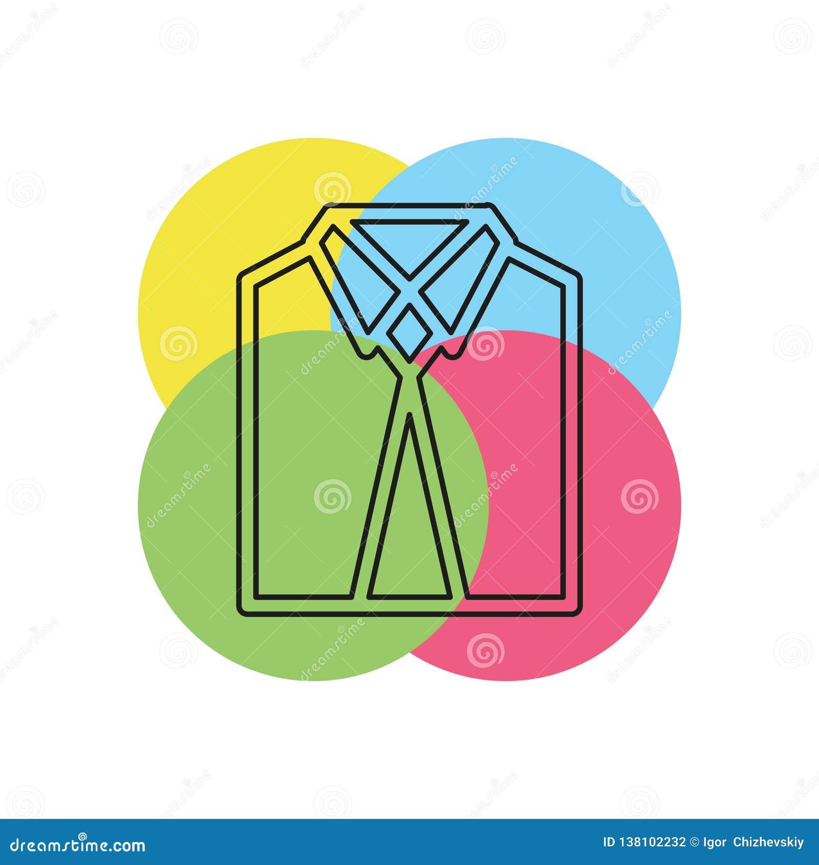 Icône professionnelle de costume - icône d affaires