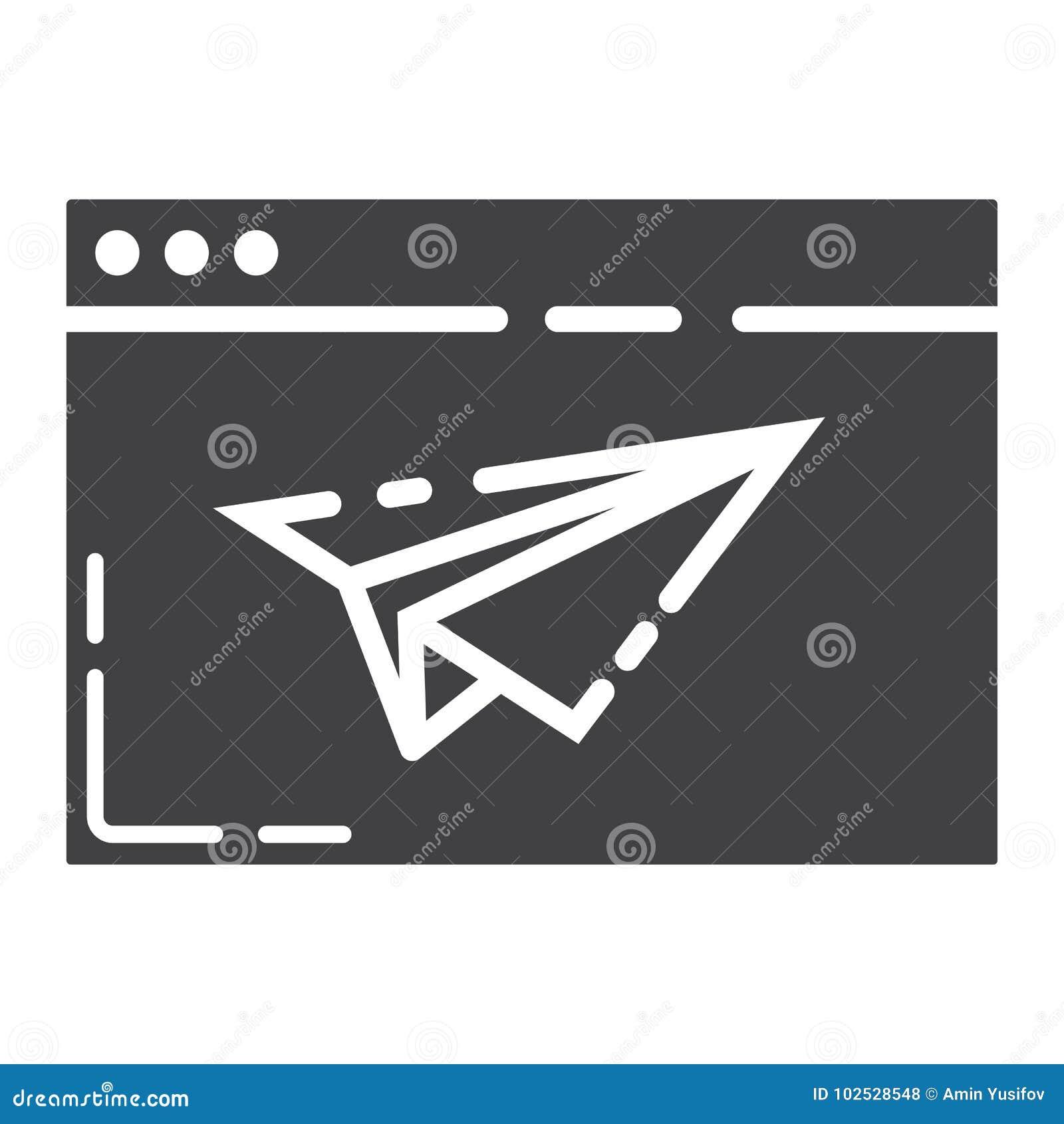 Icône, seo et développement de glyph de page d atterrissage