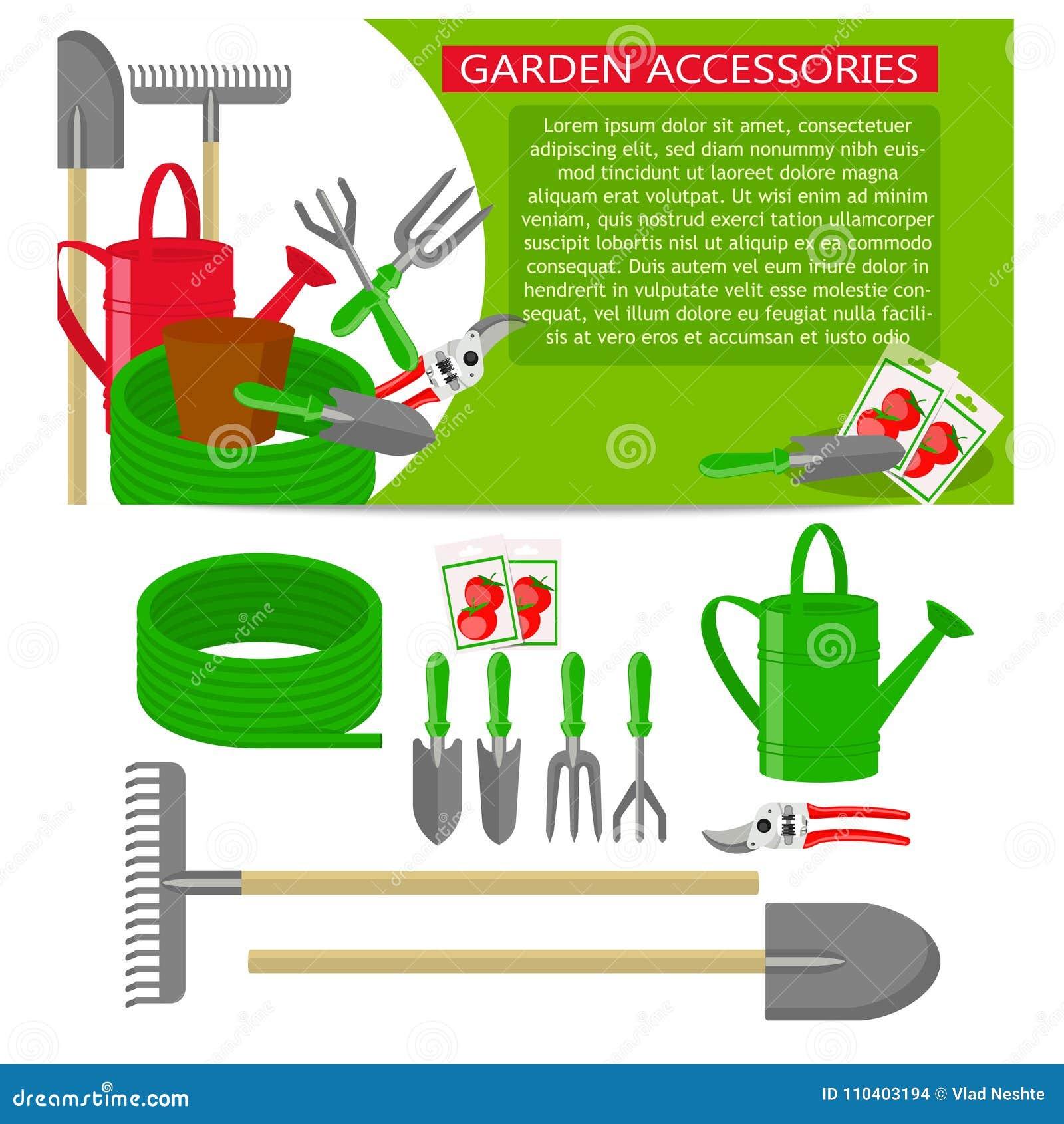 Les Outils De Jardinage Avec Photos icônes d'outils de jardinage d'isolement sur le fond blanc