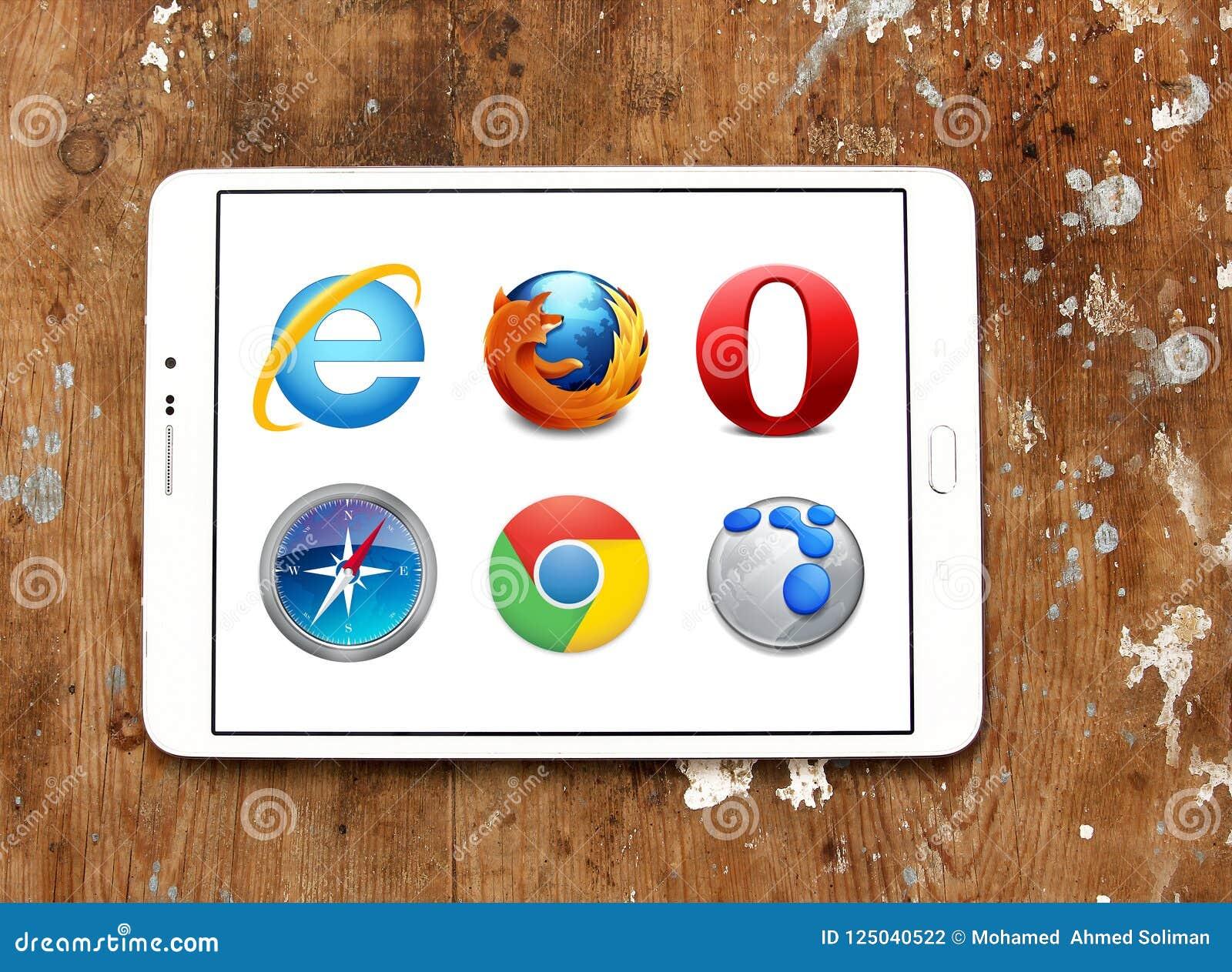 Icônes de navigateurs de Web