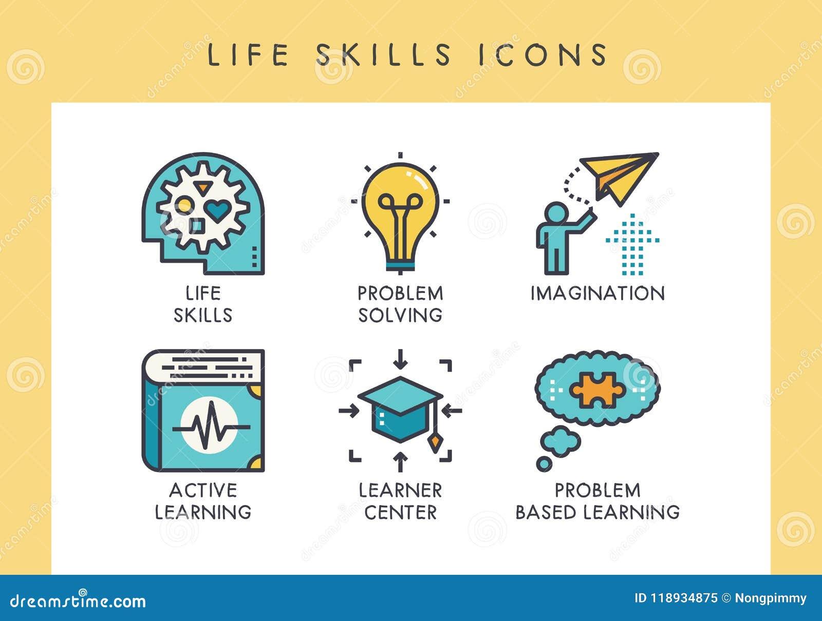 Icônes de qualifications de la vie