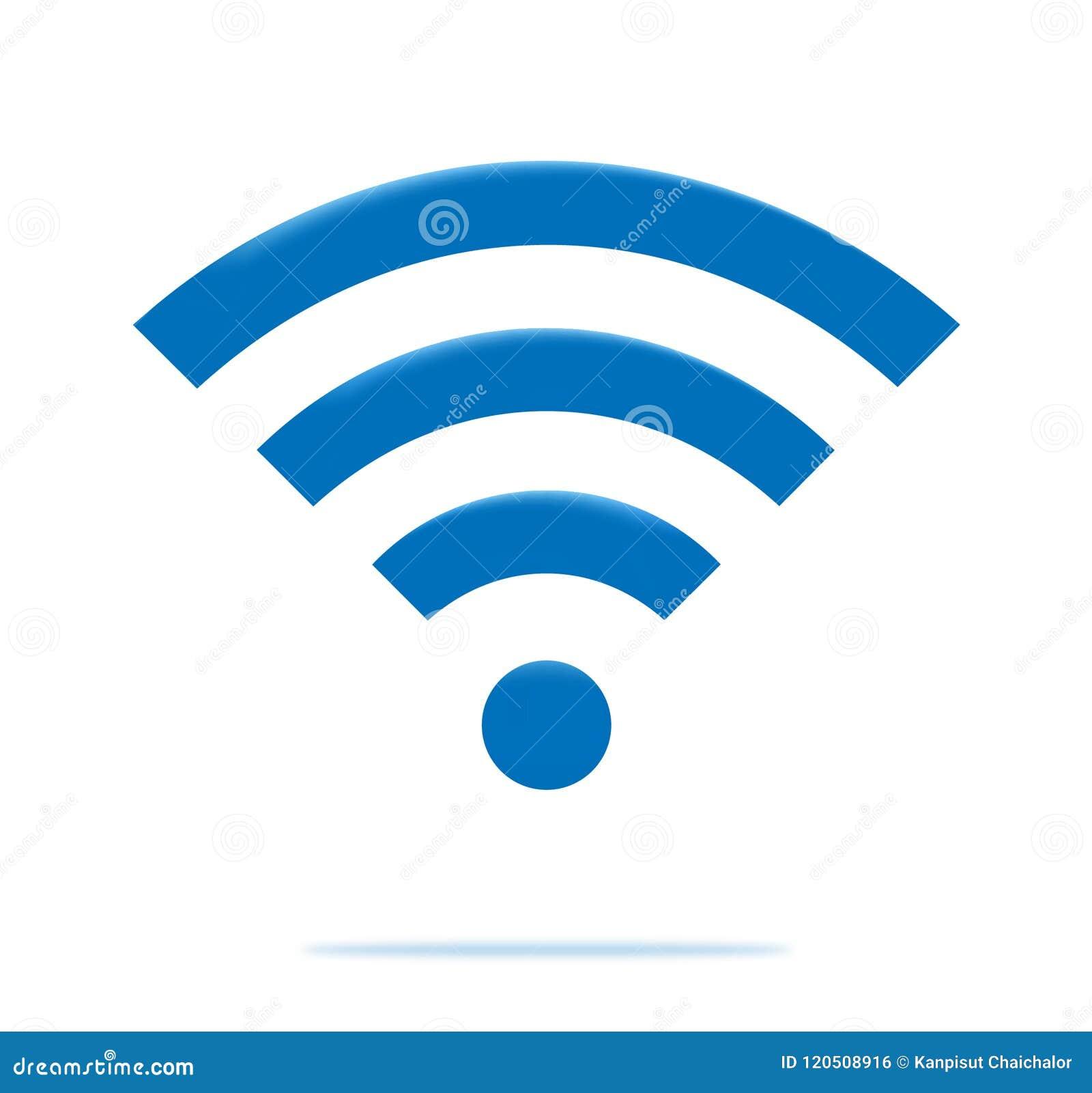 Icônes de radio et de wifi Icône de wifi de symbole de réseau sans fil  Vecteur de radio et de wifi 7fdab79ac409