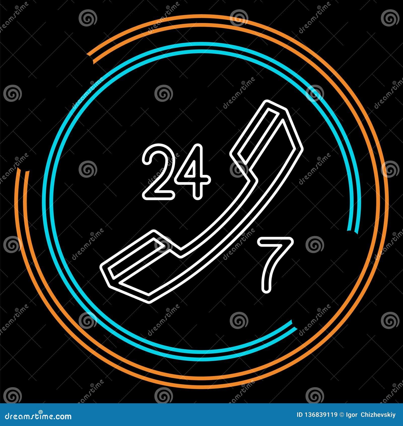 24 icônes de service à la clientèle 7 - support à la clientèle