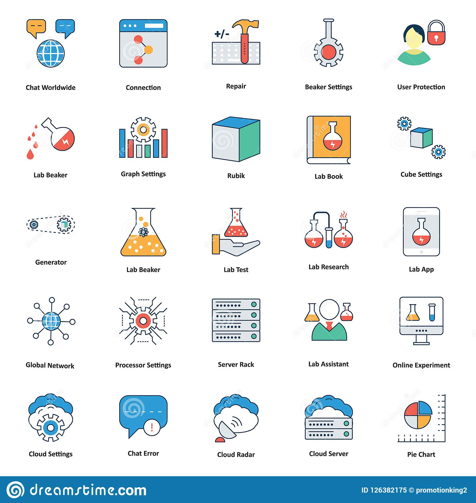 Icônes Editable Médicales Et De Technologie De Ligne Et De