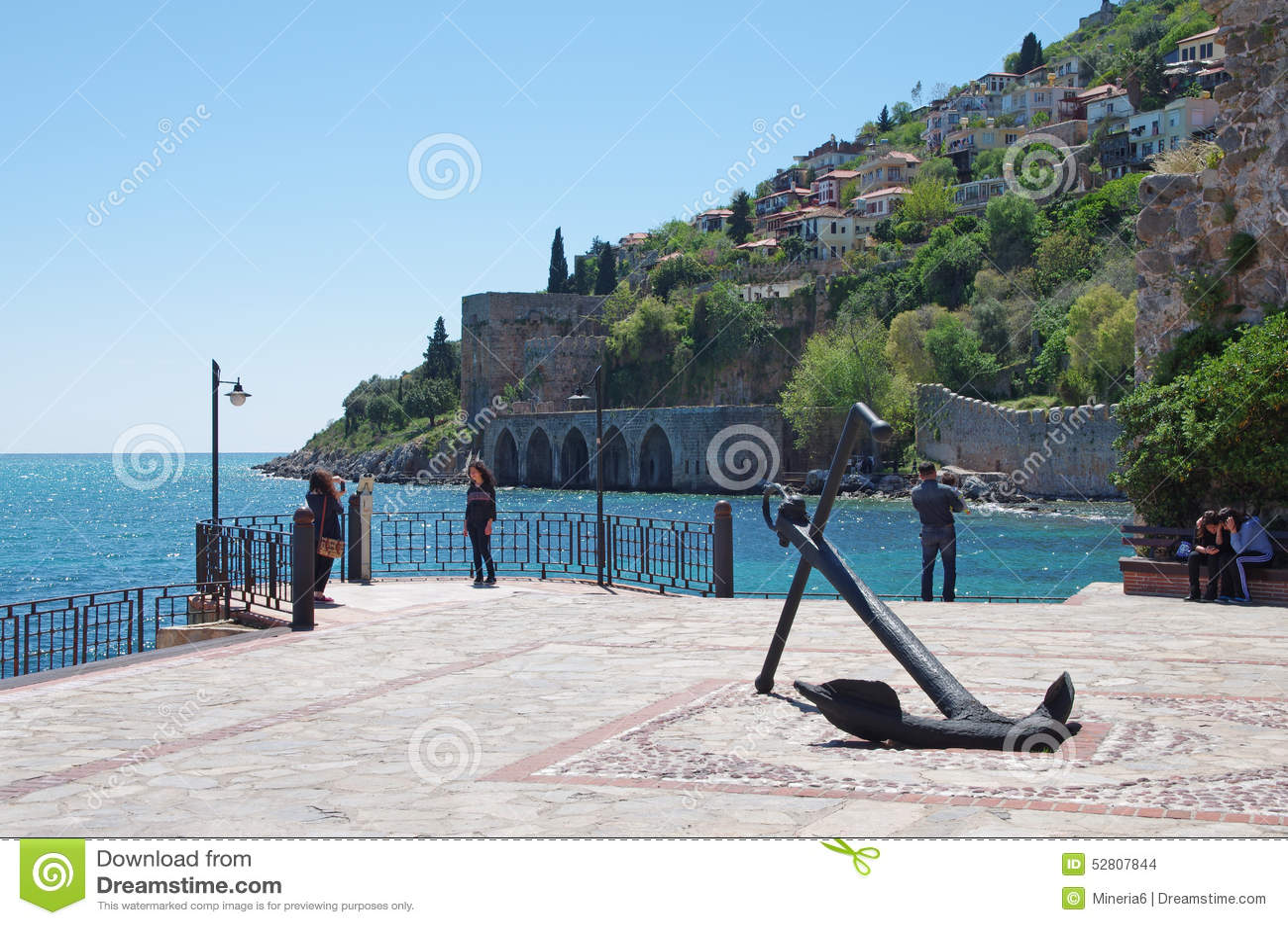 Ic Kale (Inner Castle ), Alanya, Turkey Editorial Stock ...