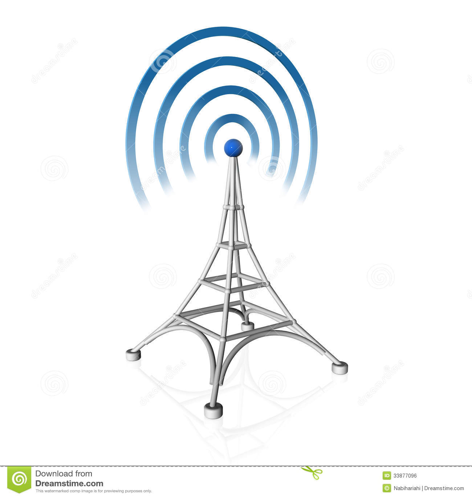 Icône d antenne