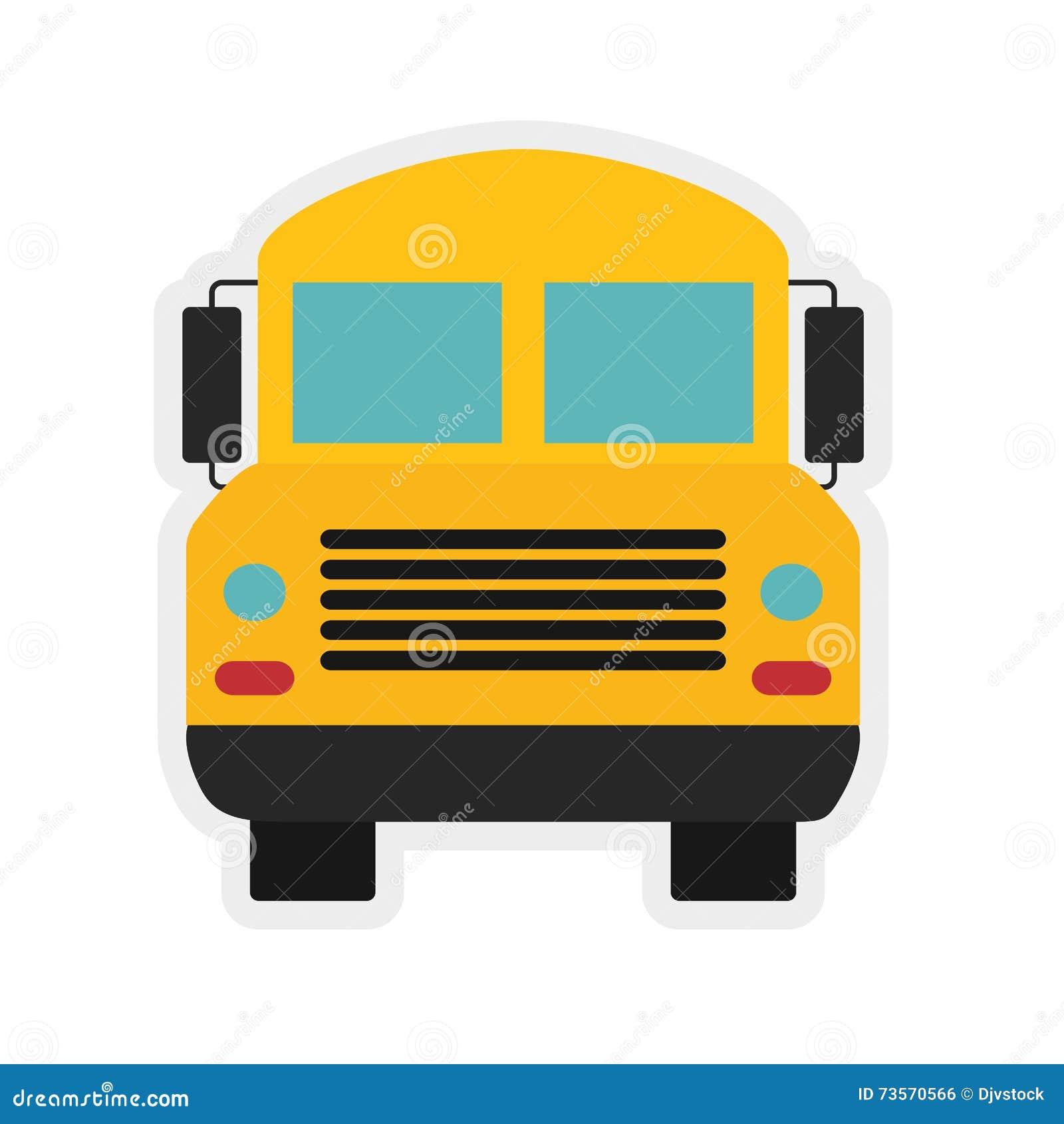 Icône D Autobus Scolaire école Et Conception D éducation