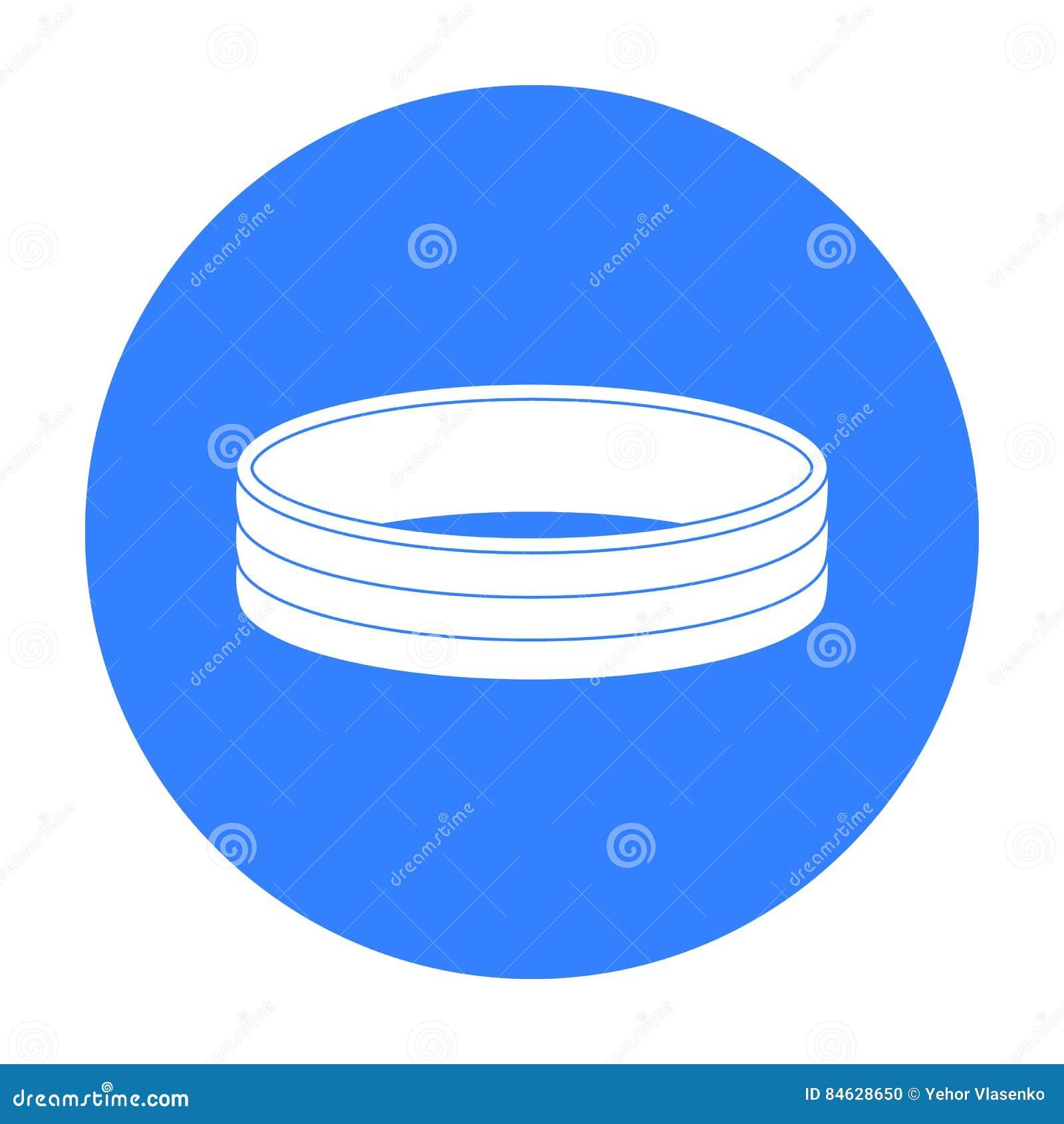 Icône d or d anneau dans le style noir d isolement sur le fond blanc Illustration de vecteur d actions de symbole de bijoux et d