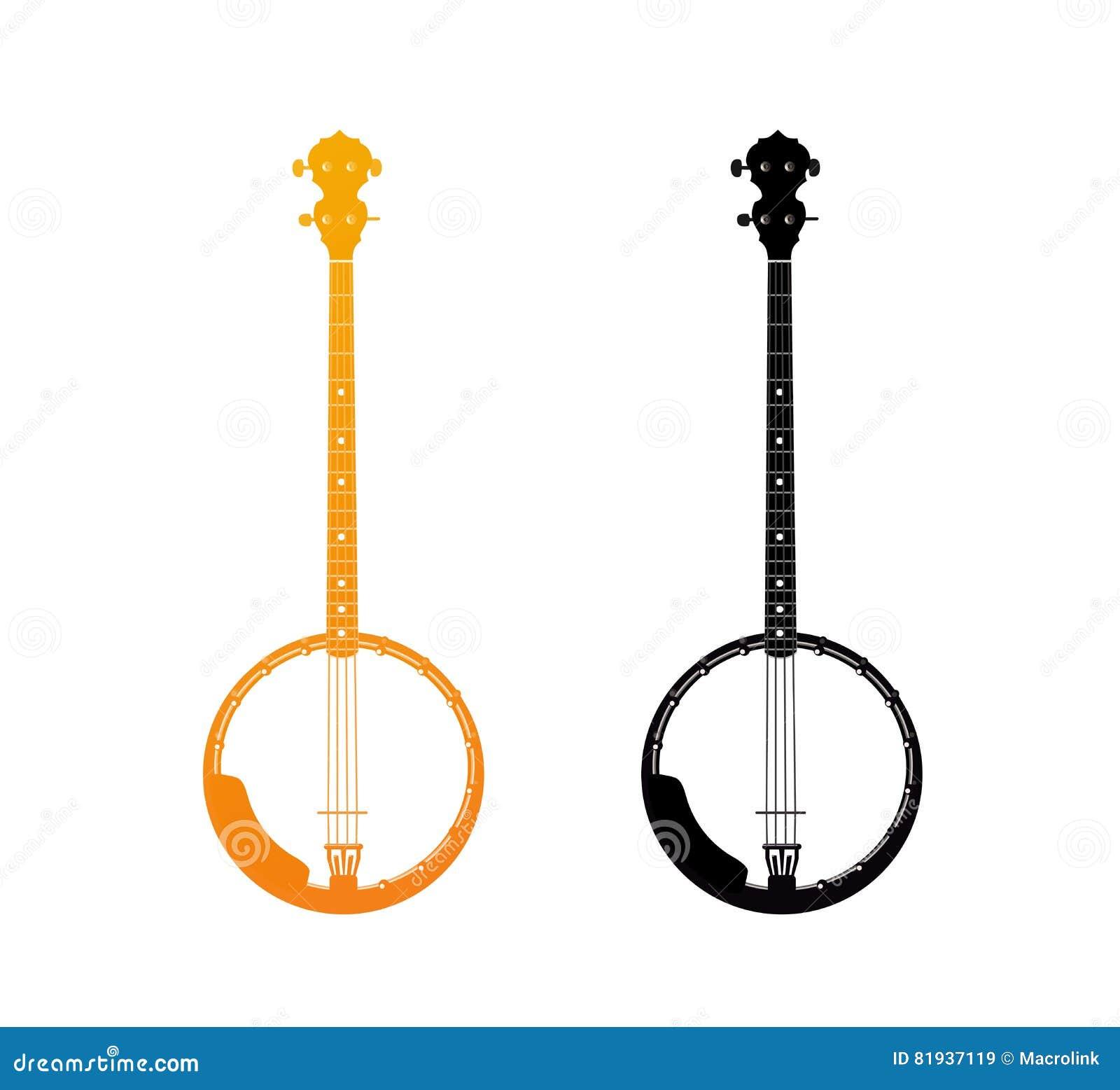 Icône d or de banjo