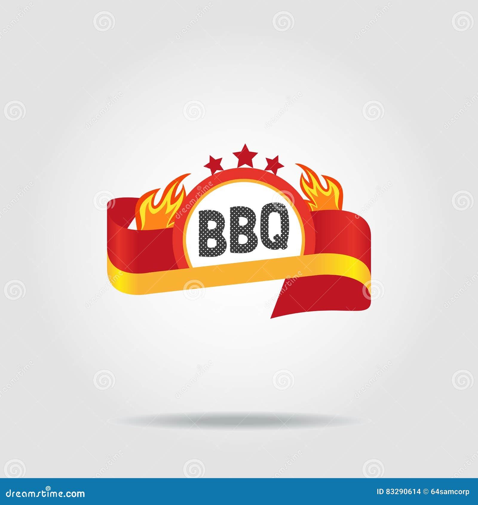 Icône d insigne de BBQ