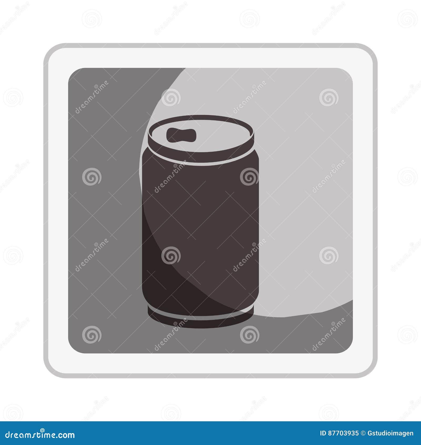 Icône d isolement de boîte de boisson