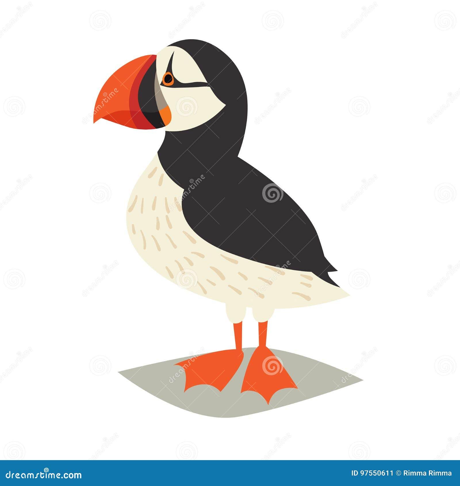 Icône d oiseau de macareux
