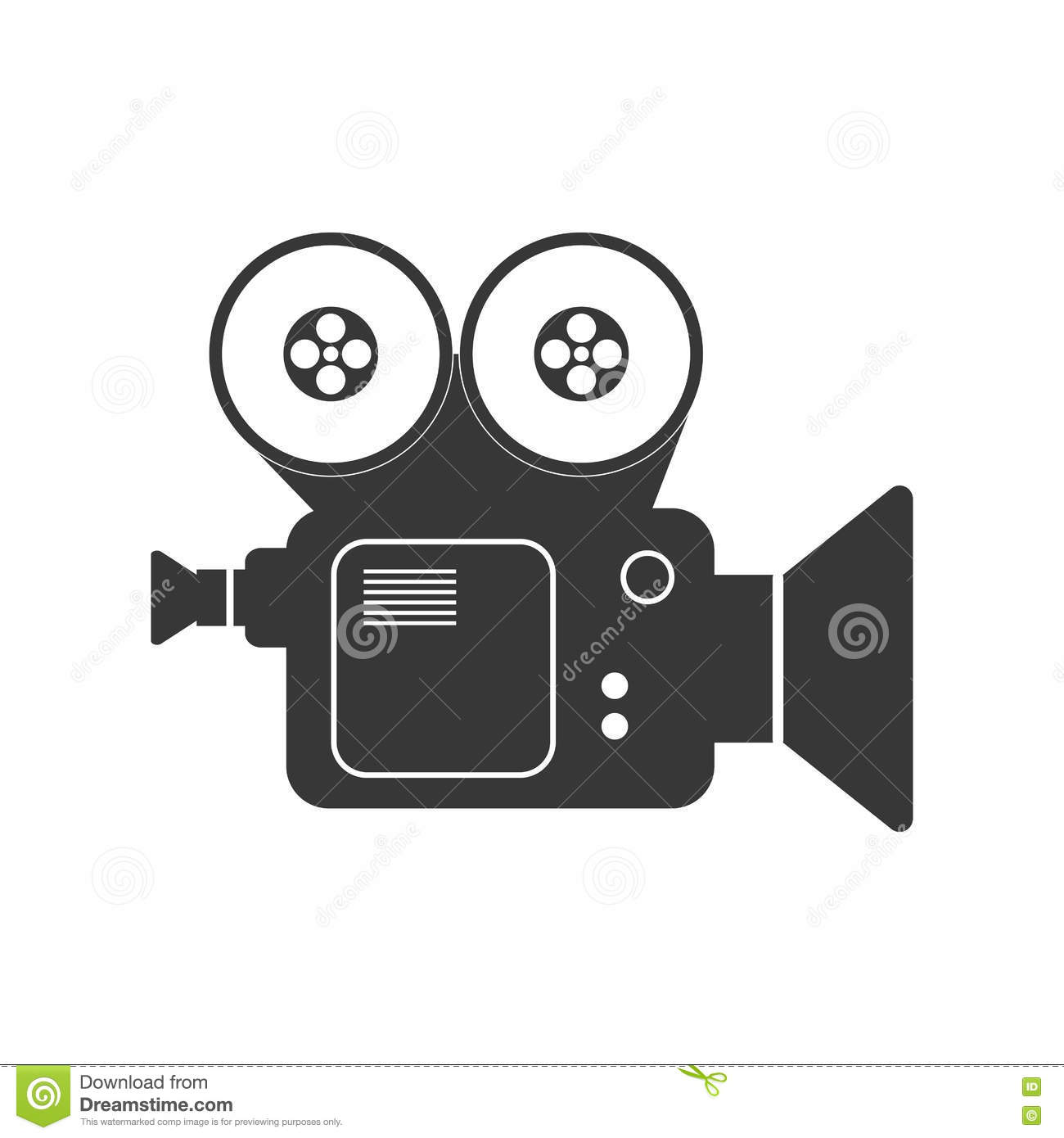 Icone De Camera Video Conception De Film Dessin De Vecteur Illustration Stock Illustration Du Dessin Film 74033768