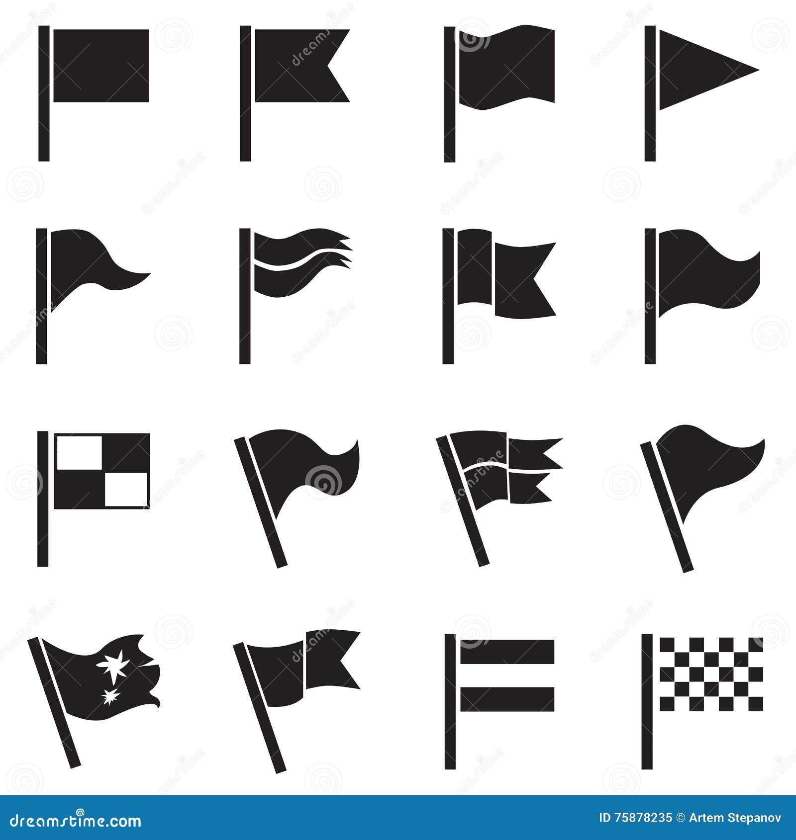 Icône de drapeau