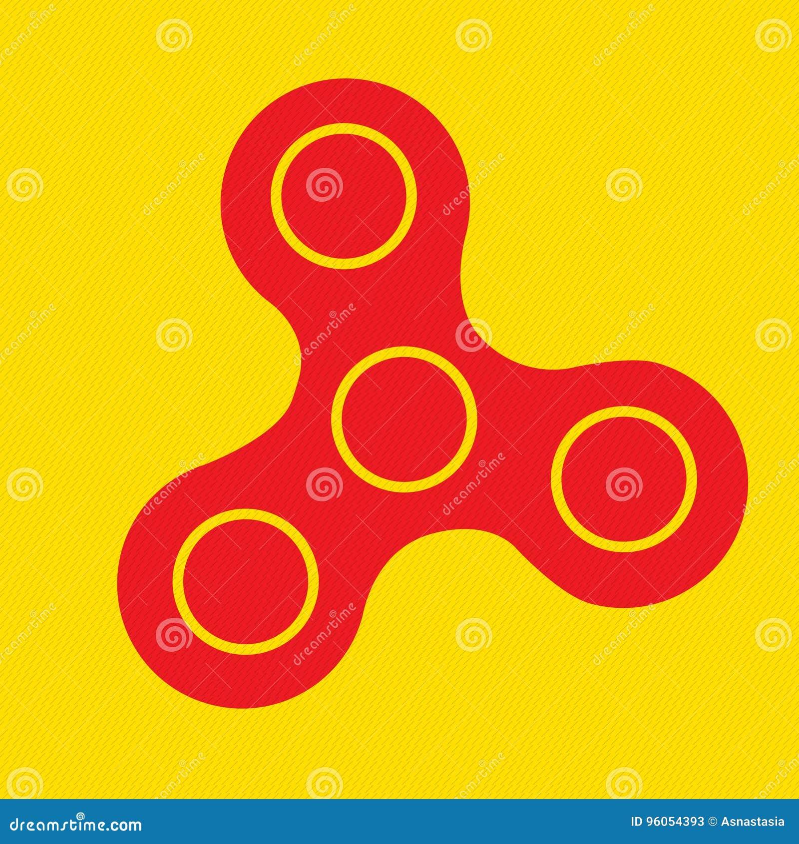 Icône de fileur - jouez pour la détente et l amélioration de la durée d attention Fileur de fidger de main