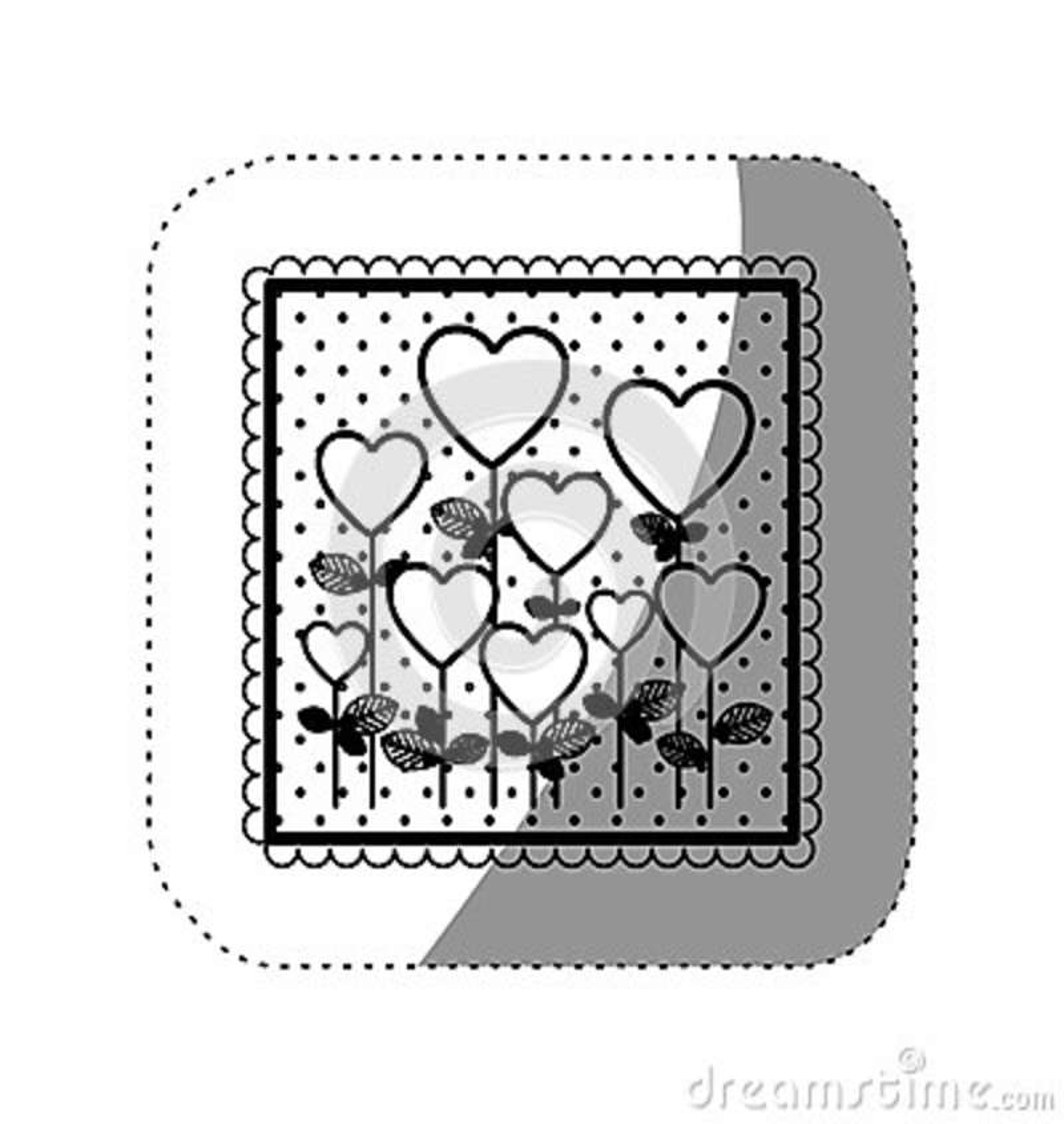 Icône de forme de ballons d arbres de symbole