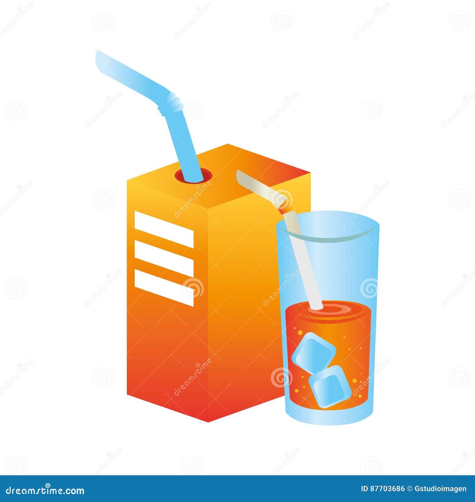 Icône de fruit de jus d orange